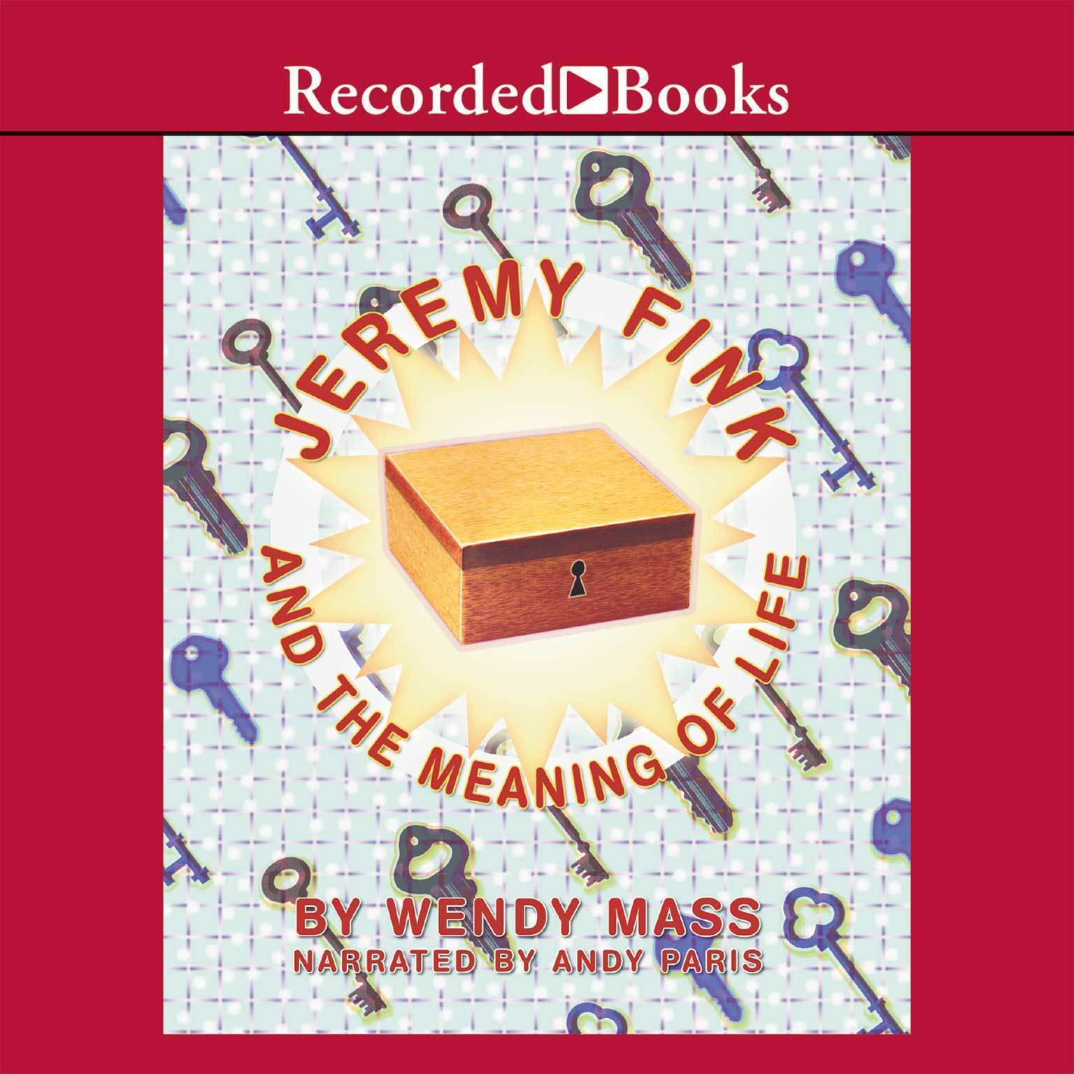 Printable Jeremy Fink and the Meaning of Life Audiobook Cover Art