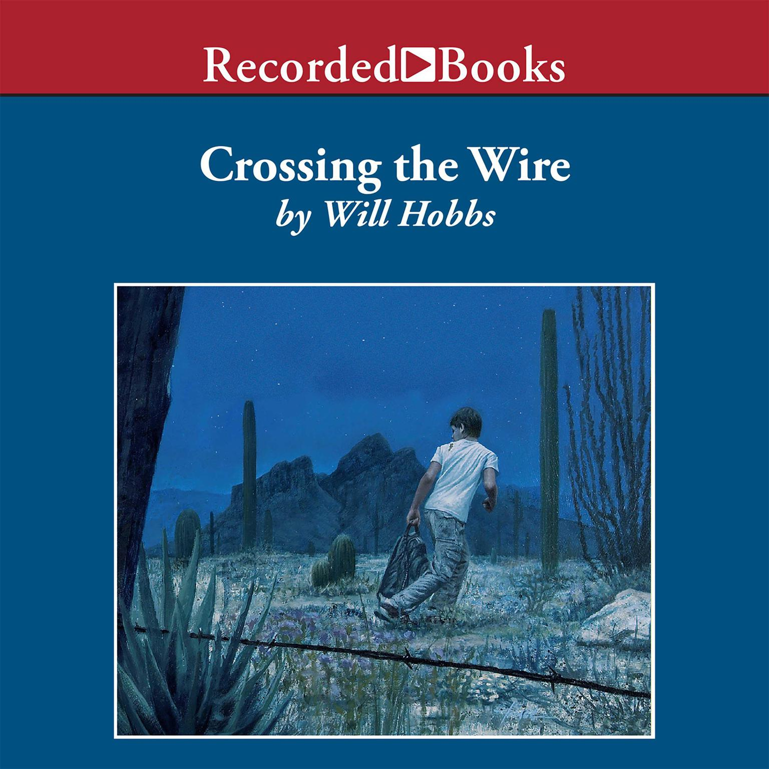 Printable Crossing the Wire Audiobook Cover Art