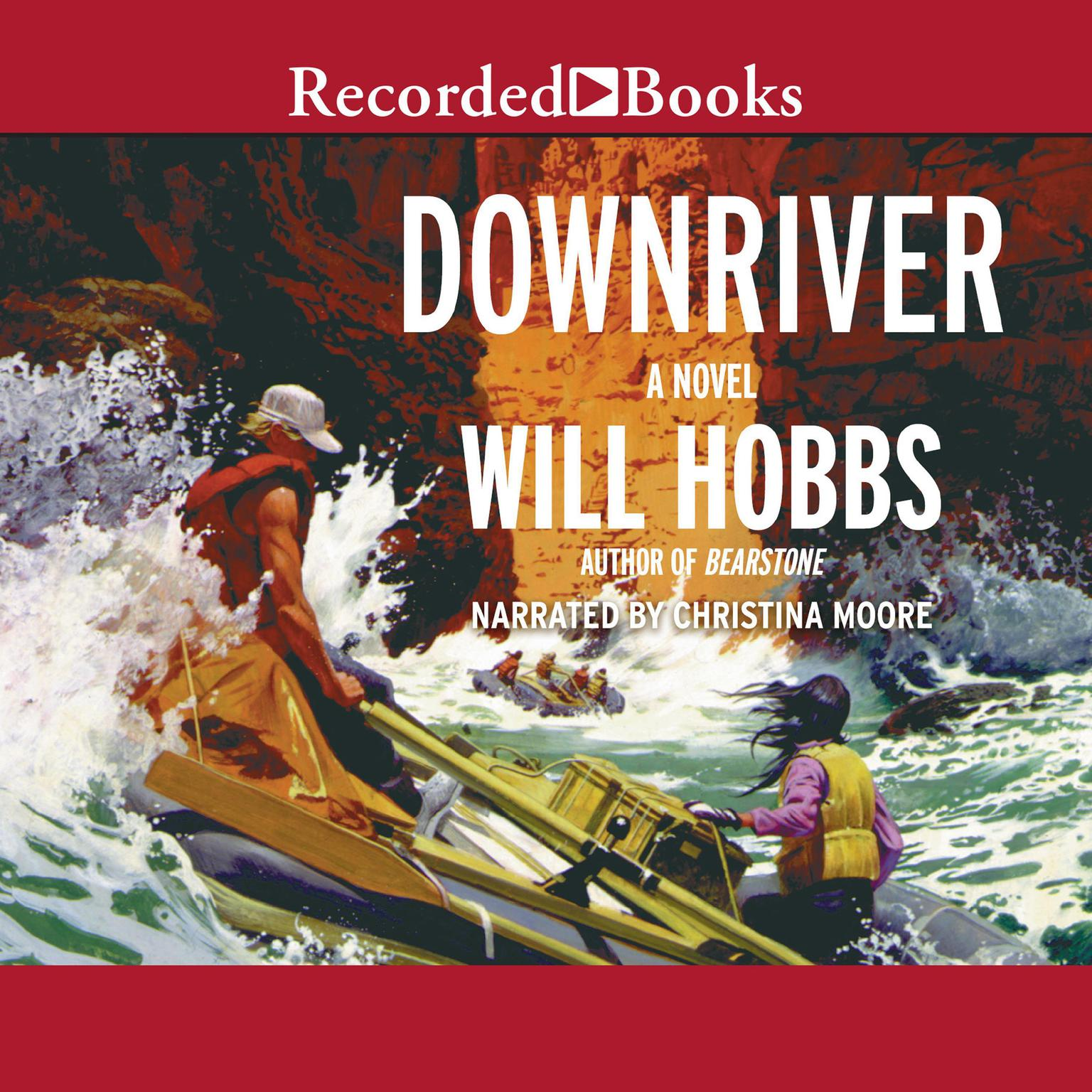 Printable Downriver Audiobook Cover Art