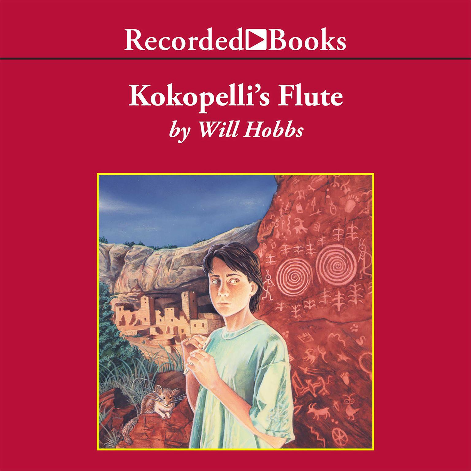 Printable Kokopelli's Flute Audiobook Cover Art