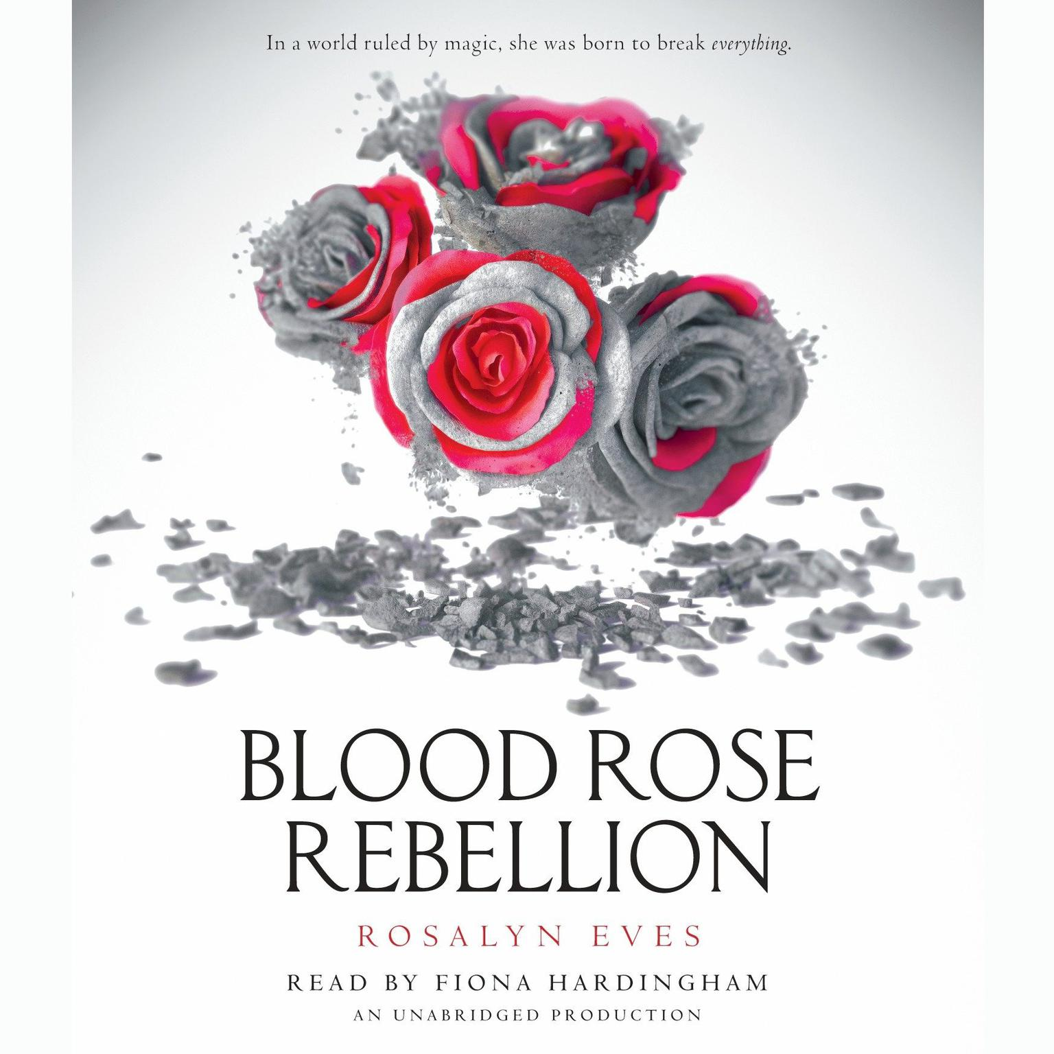 Printable Blood Rose Rebellion Audiobook Cover Art