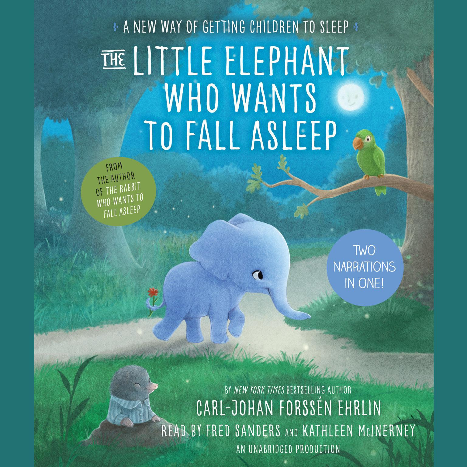 Printable The Little Elephant Who Wants to Fall Asleep: A New Way of Getting Children to Sleep Audiobook Cover Art