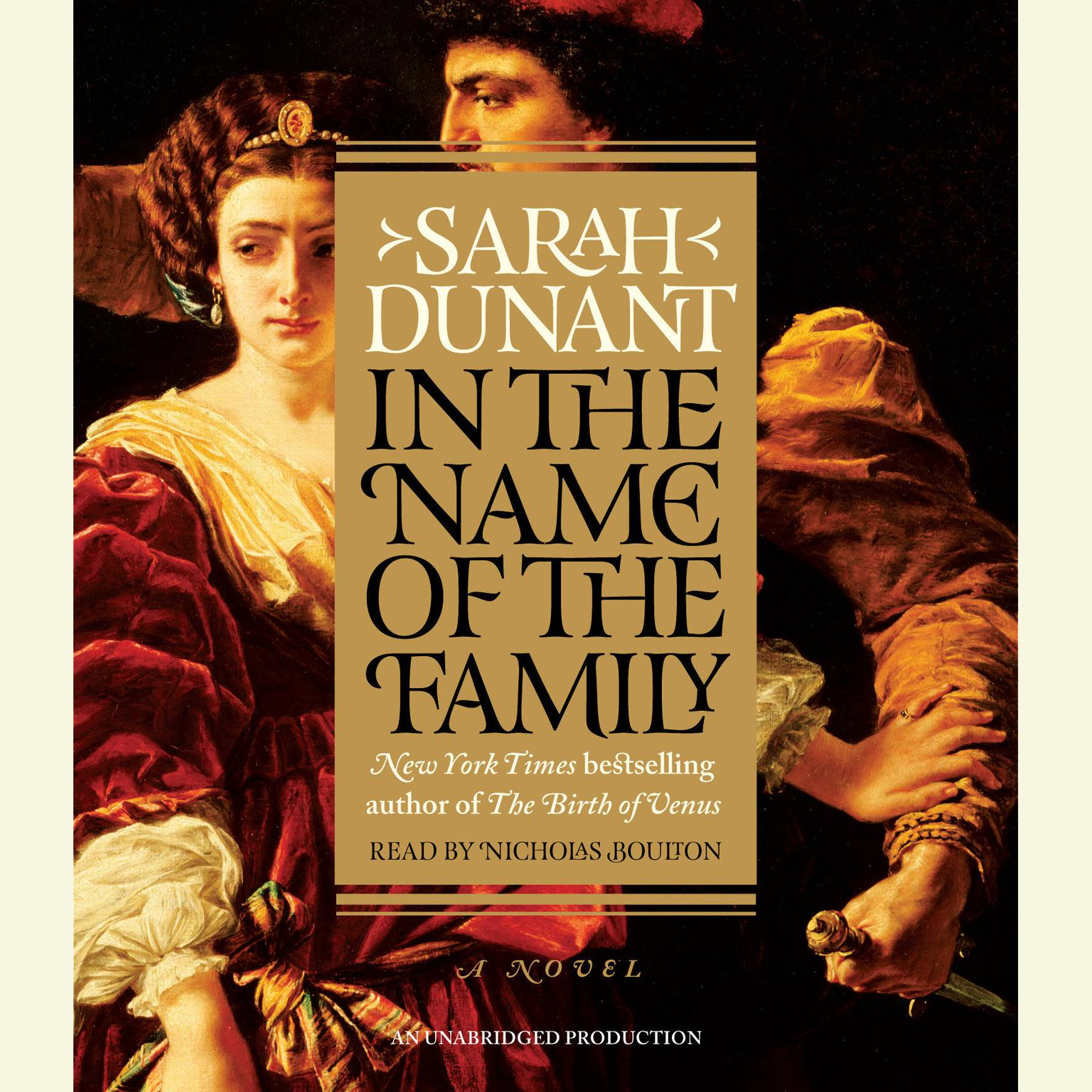 Printable In the Name of the Family: A Novel Audiobook Cover Art