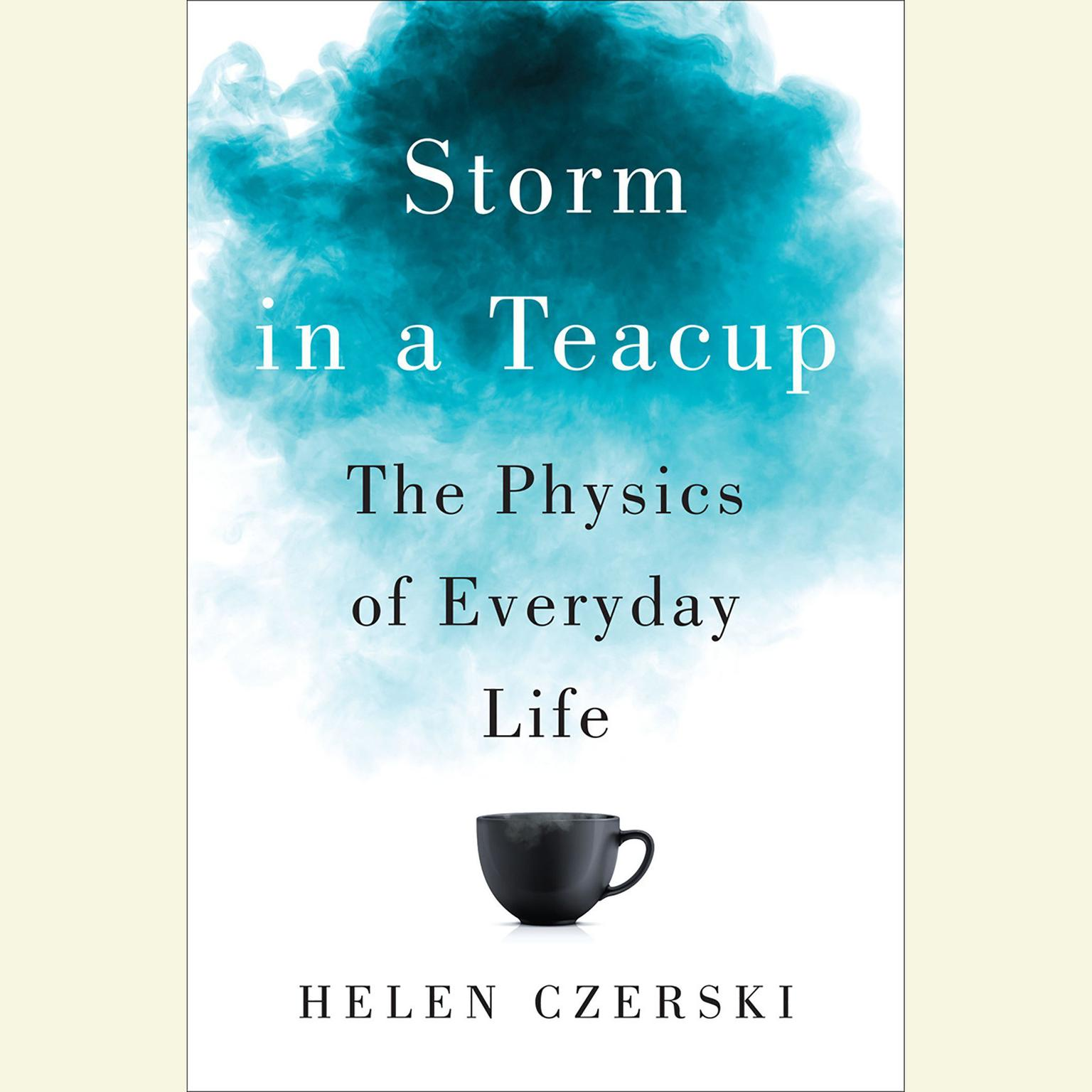 Printable Storm in a Teacup: The Physics of Everyday Life Audiobook Cover Art
