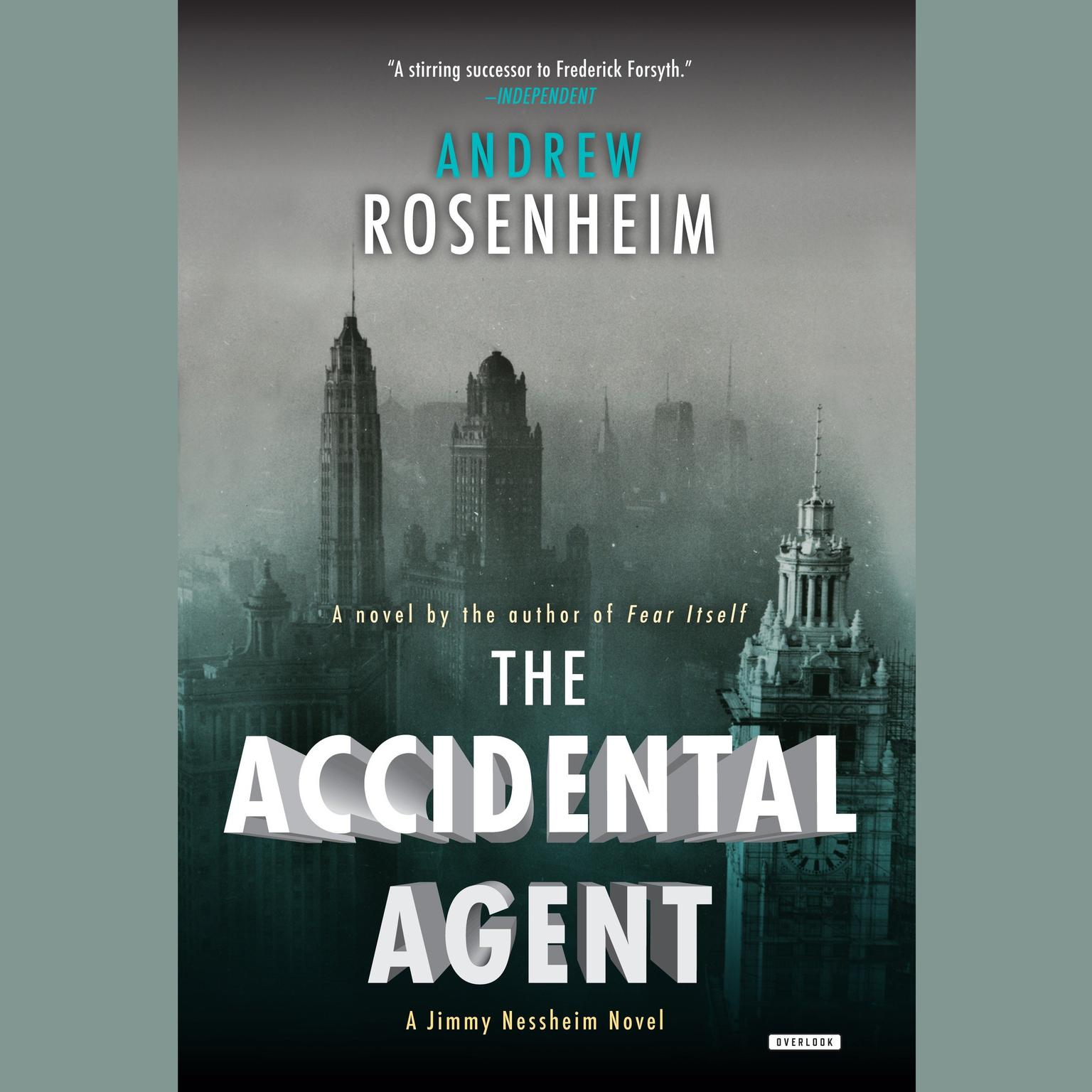 Printable The Accidental Agent: A Jimmy Nessheim Novel Audiobook Cover Art