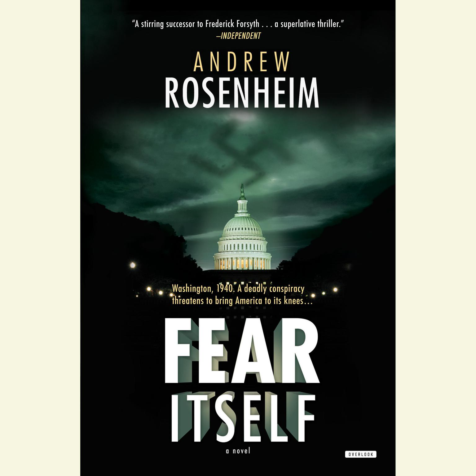 Printable Fear Itself: A Novel Audiobook Cover Art