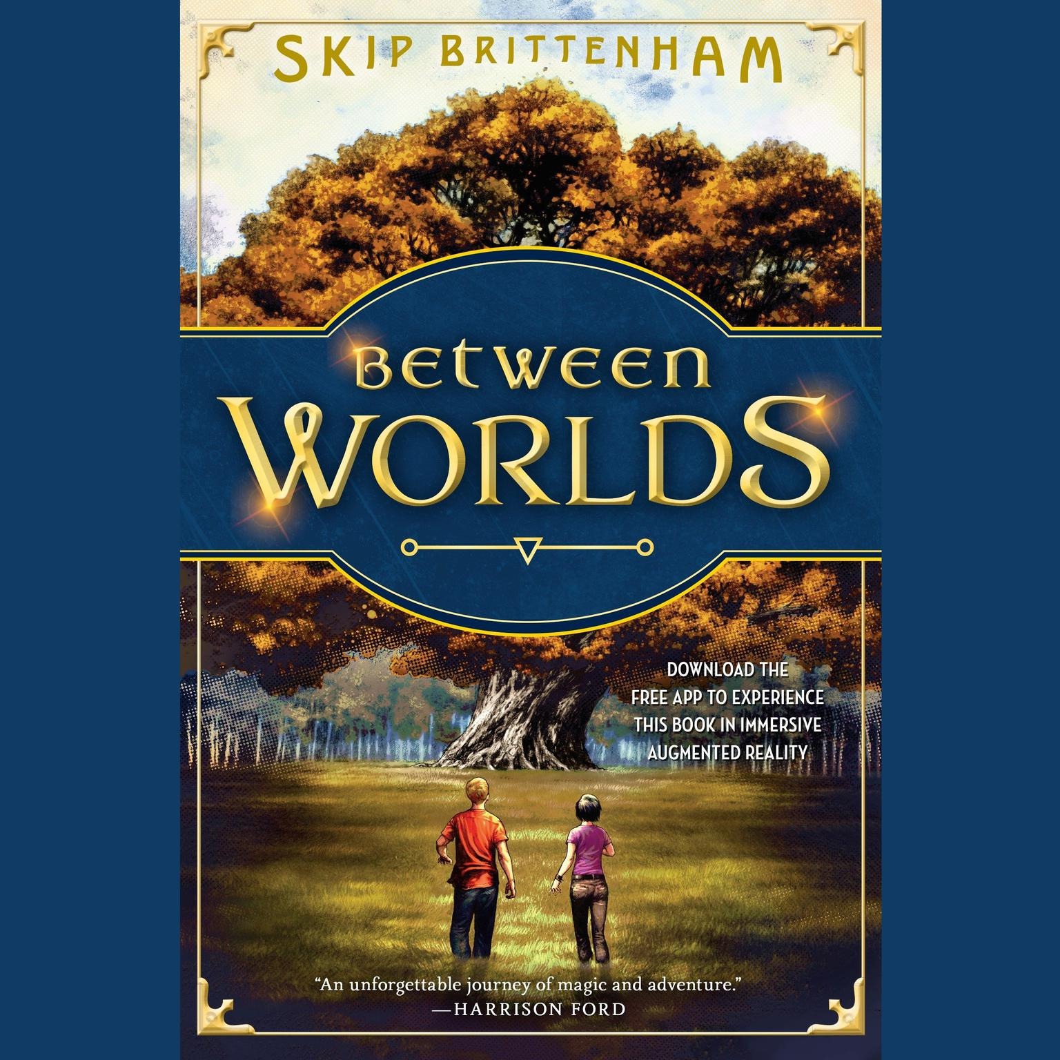 Printable Between Worlds Audiobook Cover Art