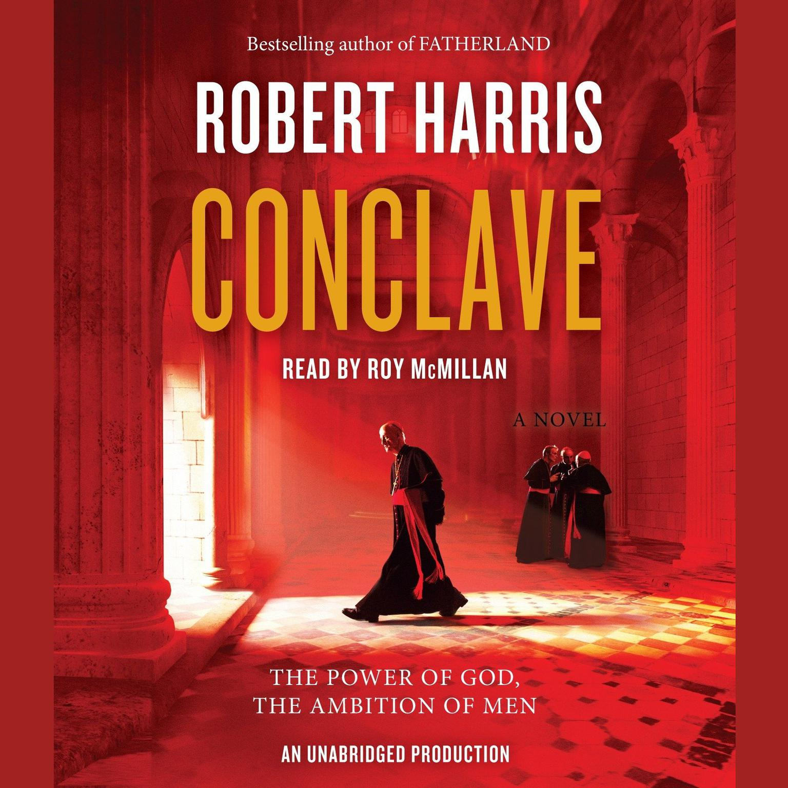 Printable Conclave: A novel Audiobook Cover Art