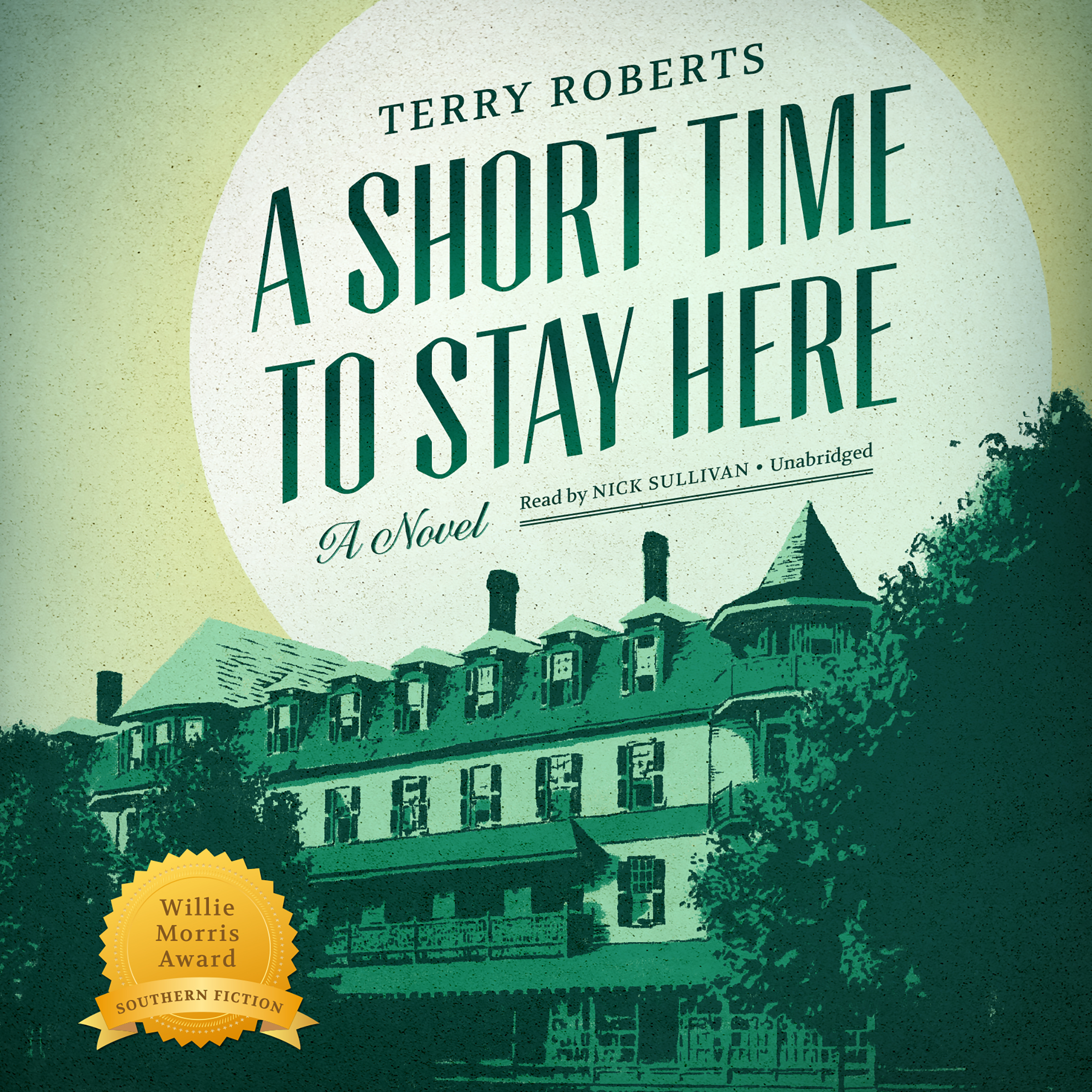 Printable A Short Time to Stay Here Audiobook Cover Art