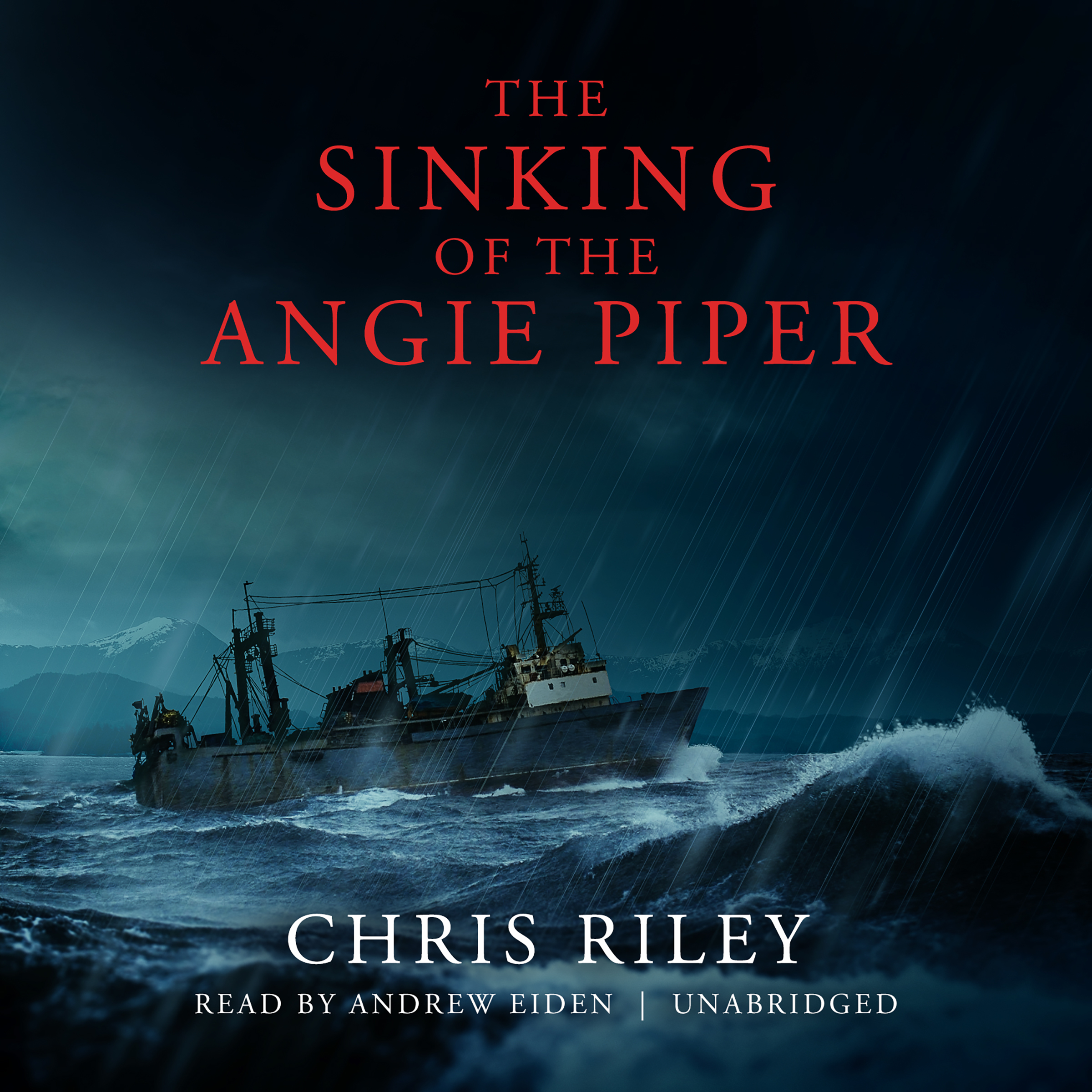 Printable The Sinking of the Angie Piper Audiobook Cover Art