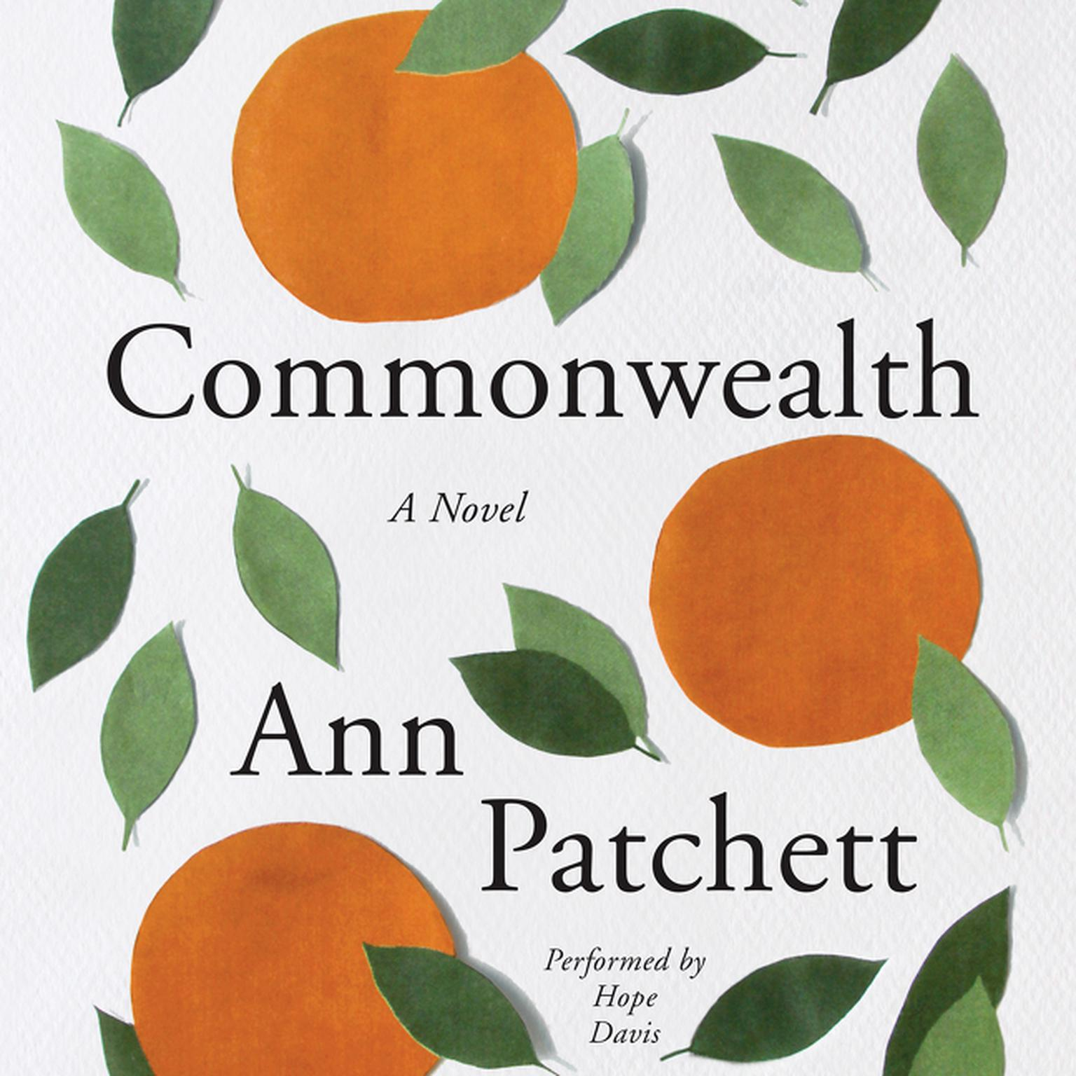 Printable Commonwealth: A Novel Audiobook Cover Art