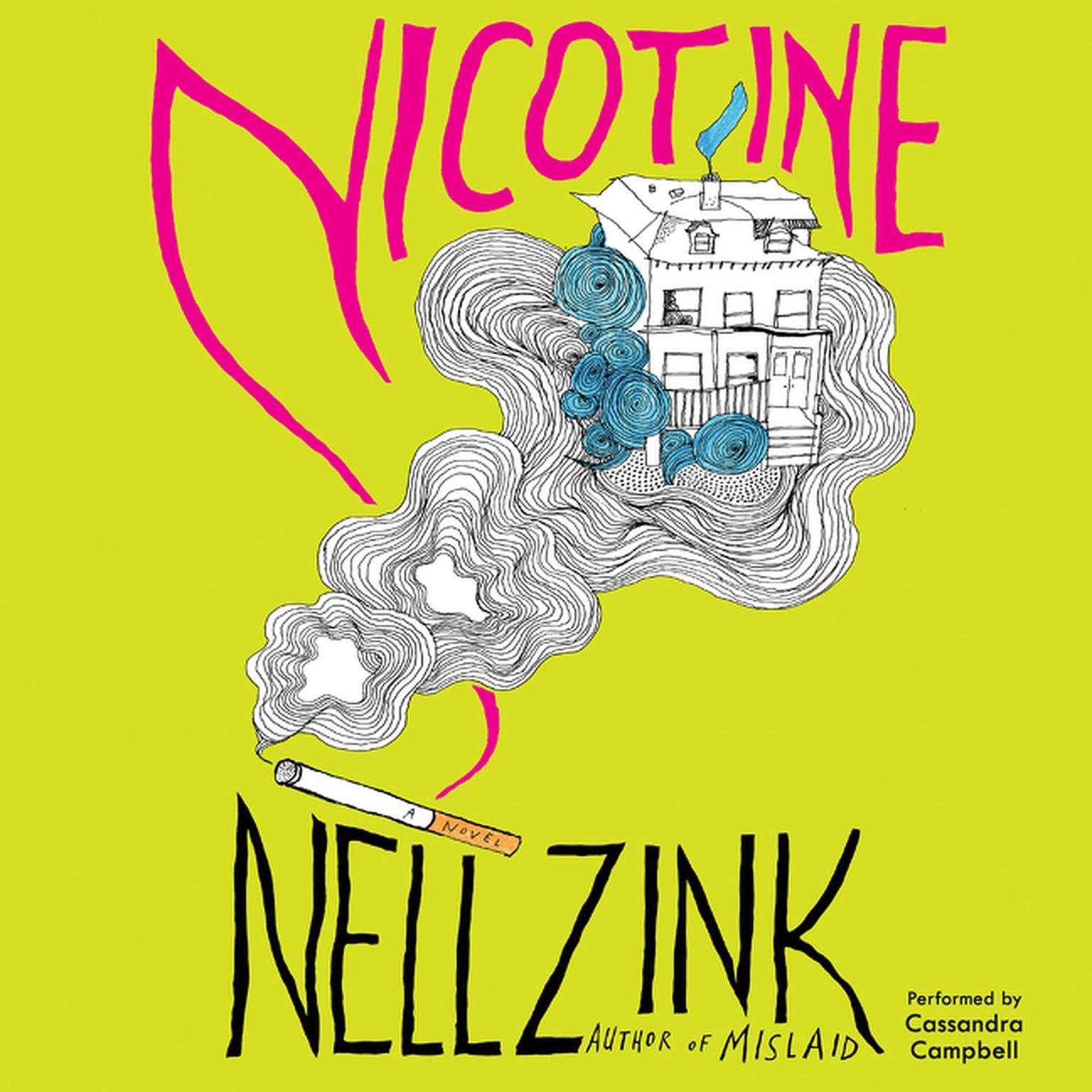 Printable Nicotine: A Novel Audiobook Cover Art