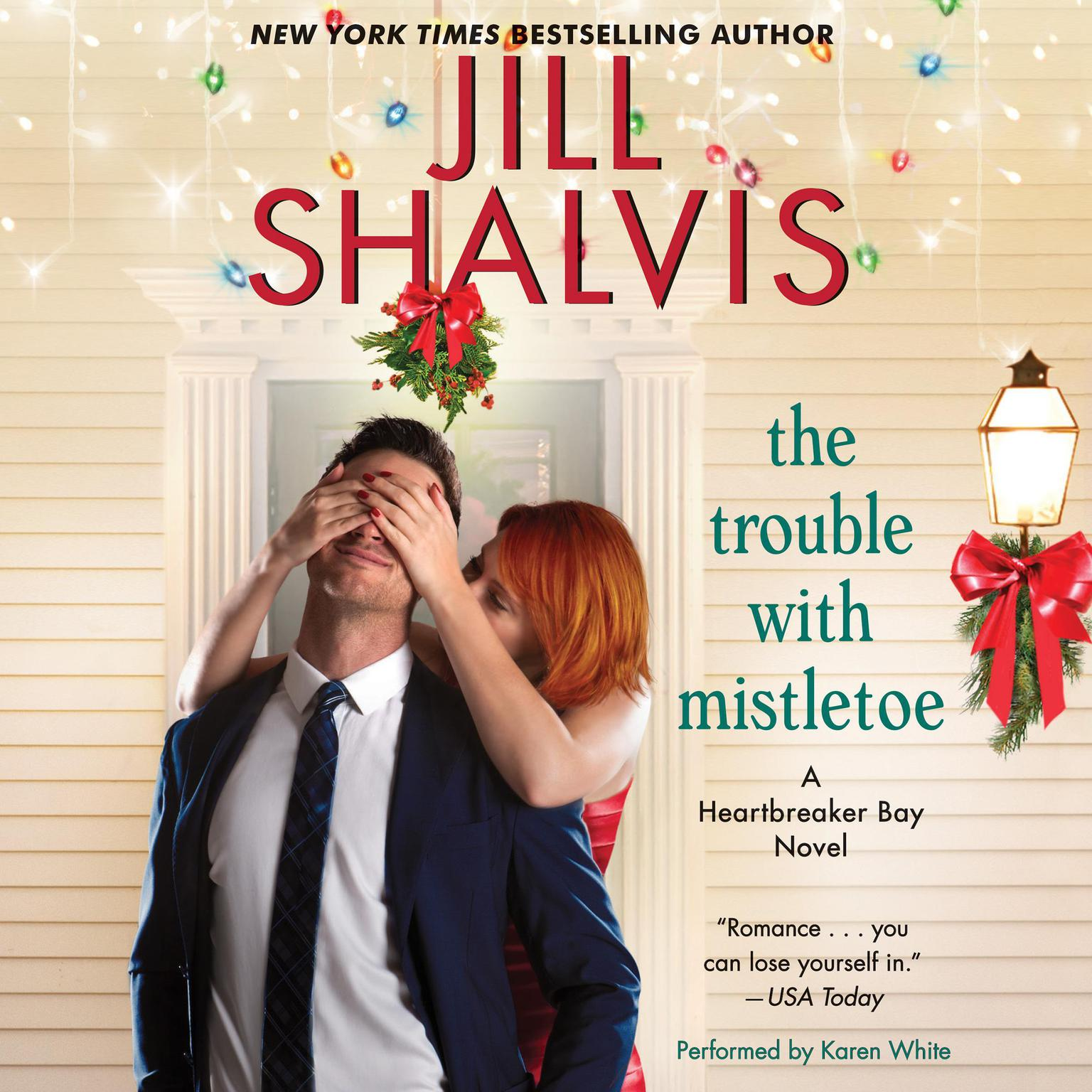 Printable The Trouble with Mistletoe: A Heartbreaker Bay Novel Audiobook Cover Art