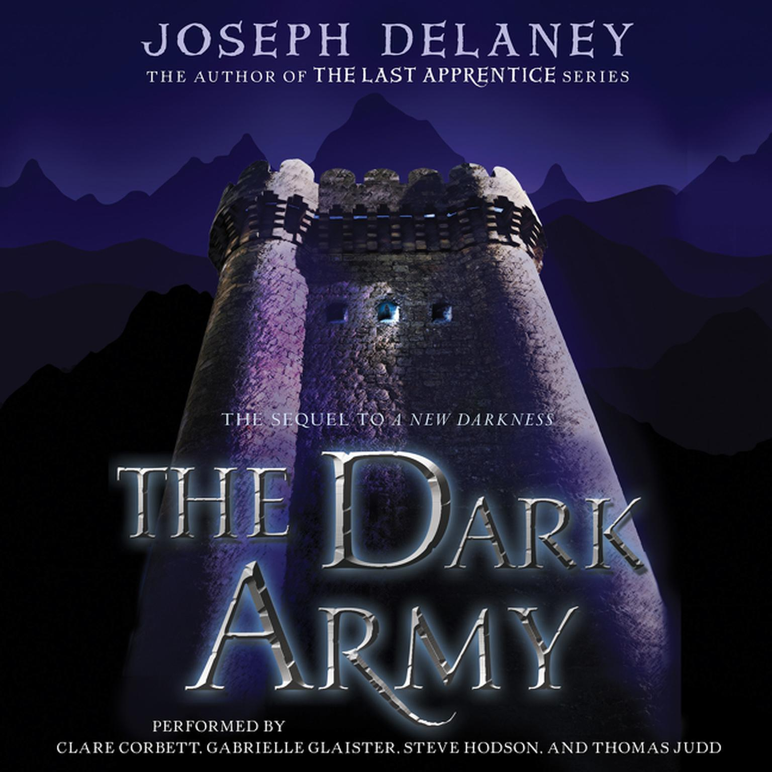 Printable The Dark Army Audiobook Cover Art