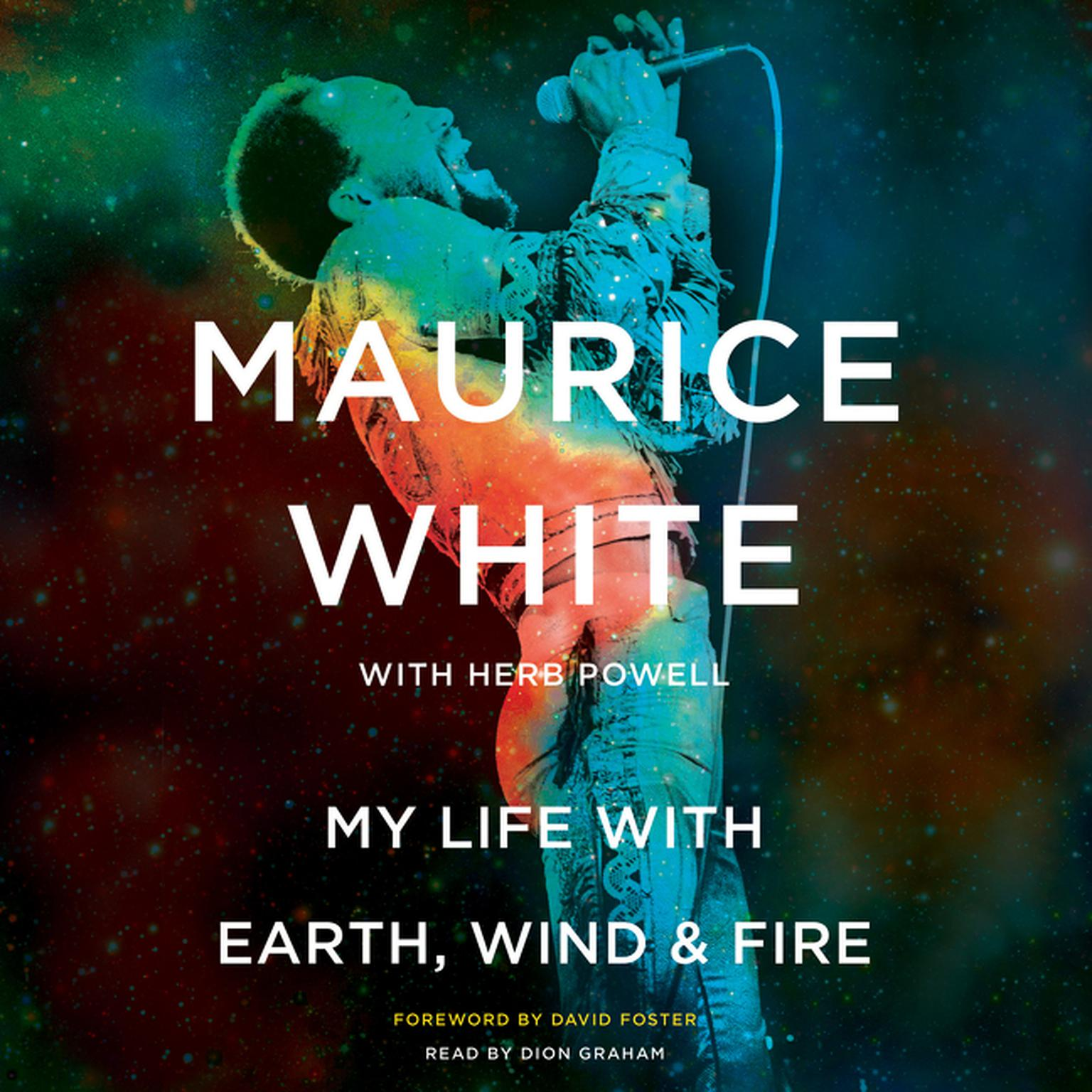 Printable My Life with Earth, Wind & Fire Audiobook Cover Art