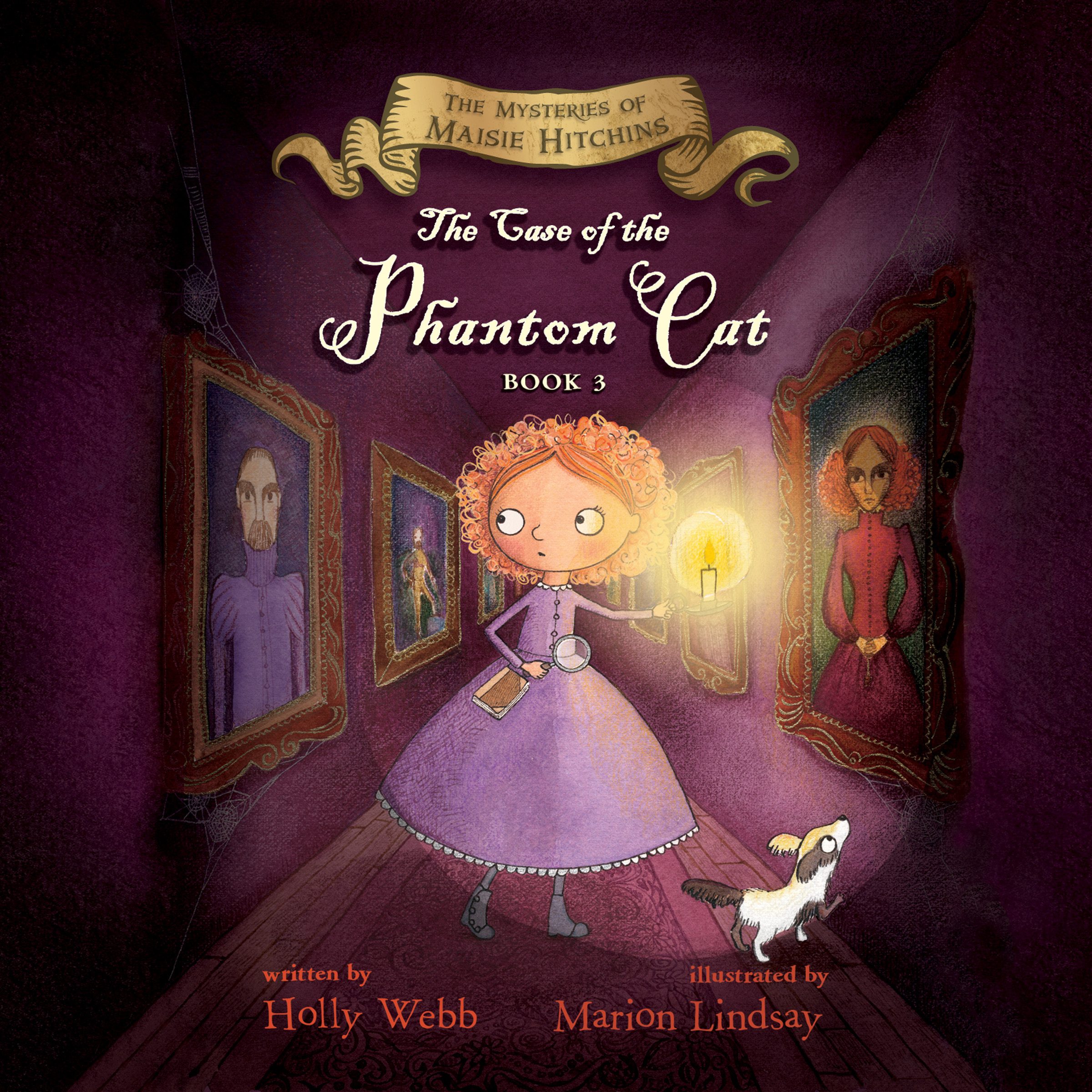 Printable The Case of the Phantom Cat: The Mysteries of Maisie Hitchins Audiobook Cover Art