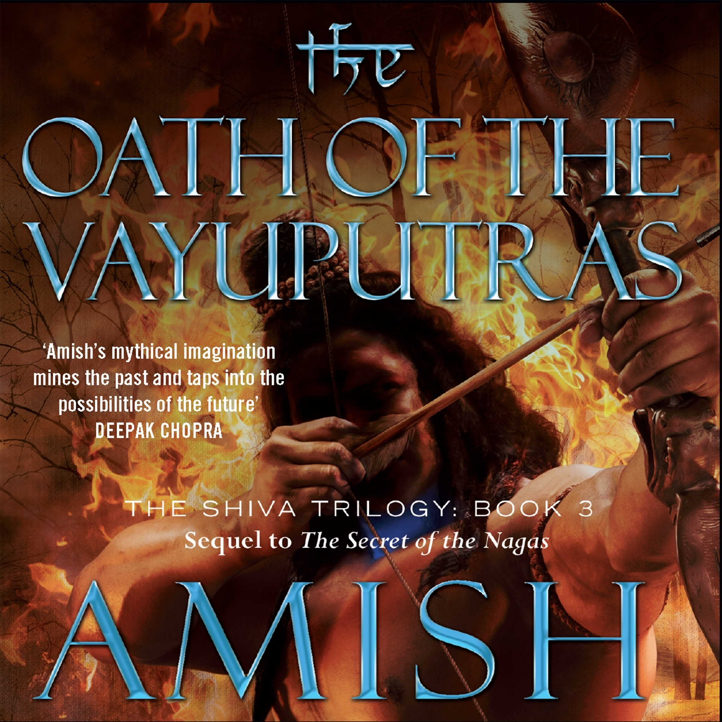 Printable The Oath of the Vayuputras Audiobook Cover Art
