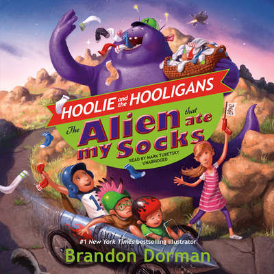 The Alien That Ate My Socks Audiobook, by Brandon Dorman