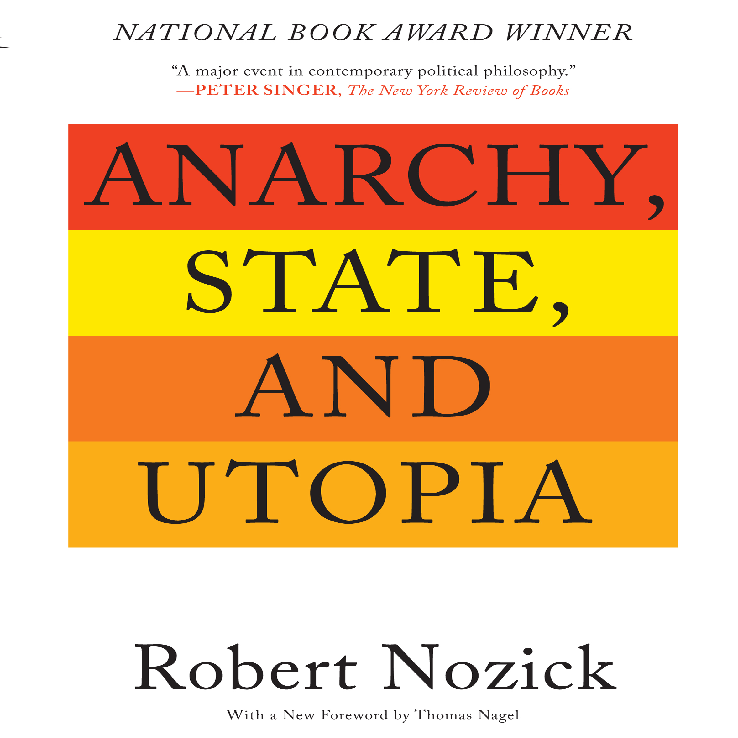 Printable Anarchy, State, and Utopia: Second Edition Audiobook Cover Art