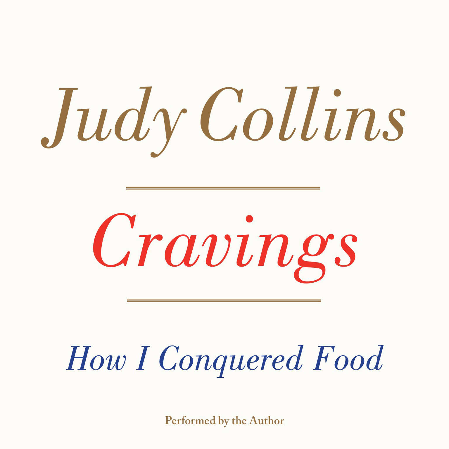 Printable Cravings: How I Conquered Food Audiobook Cover Art
