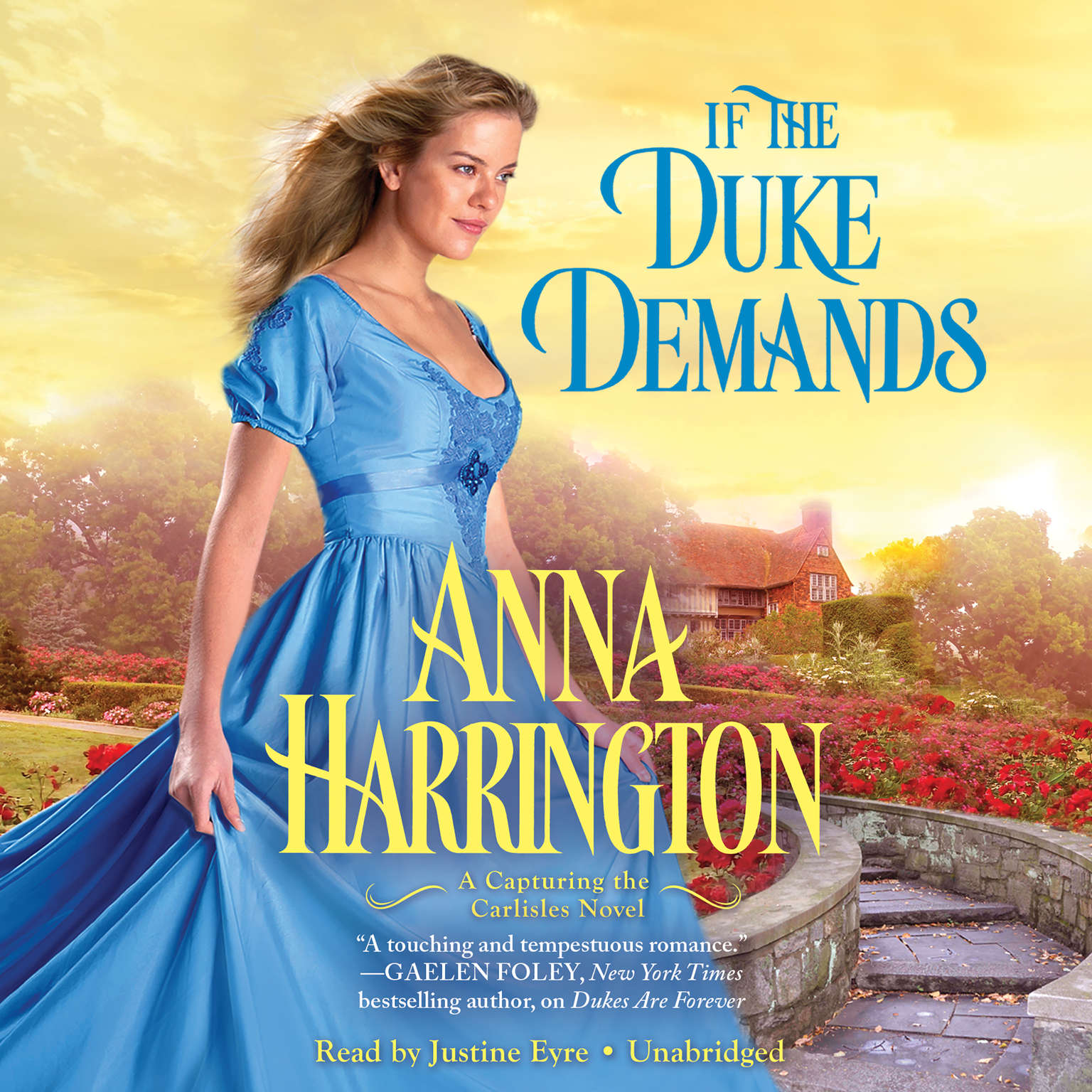 Printable If the Duke Demands Audiobook Cover Art