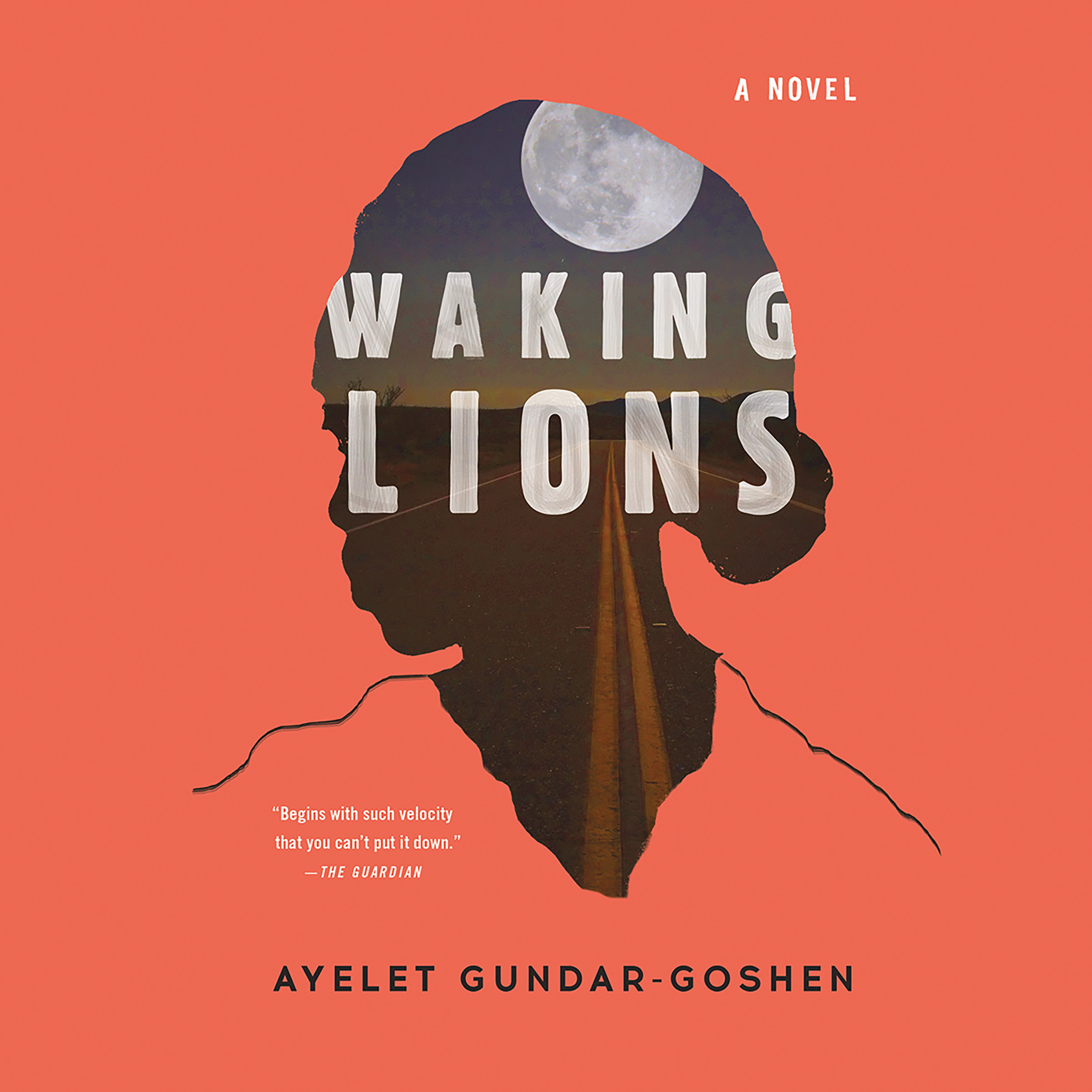 Printable Waking Lions Audiobook Cover Art