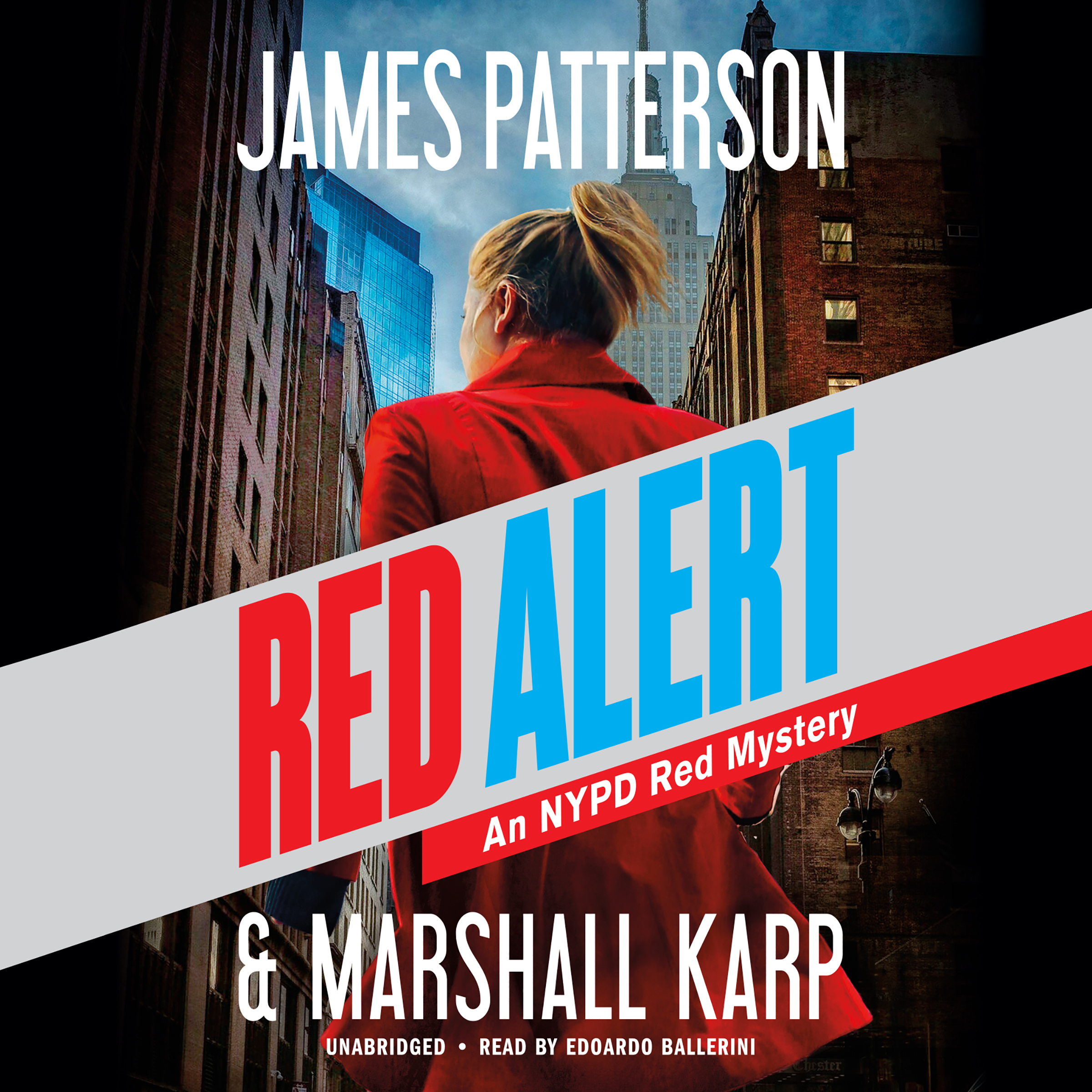 Printable Red Alert: An NYPD Red Mystery Audiobook Cover Art
