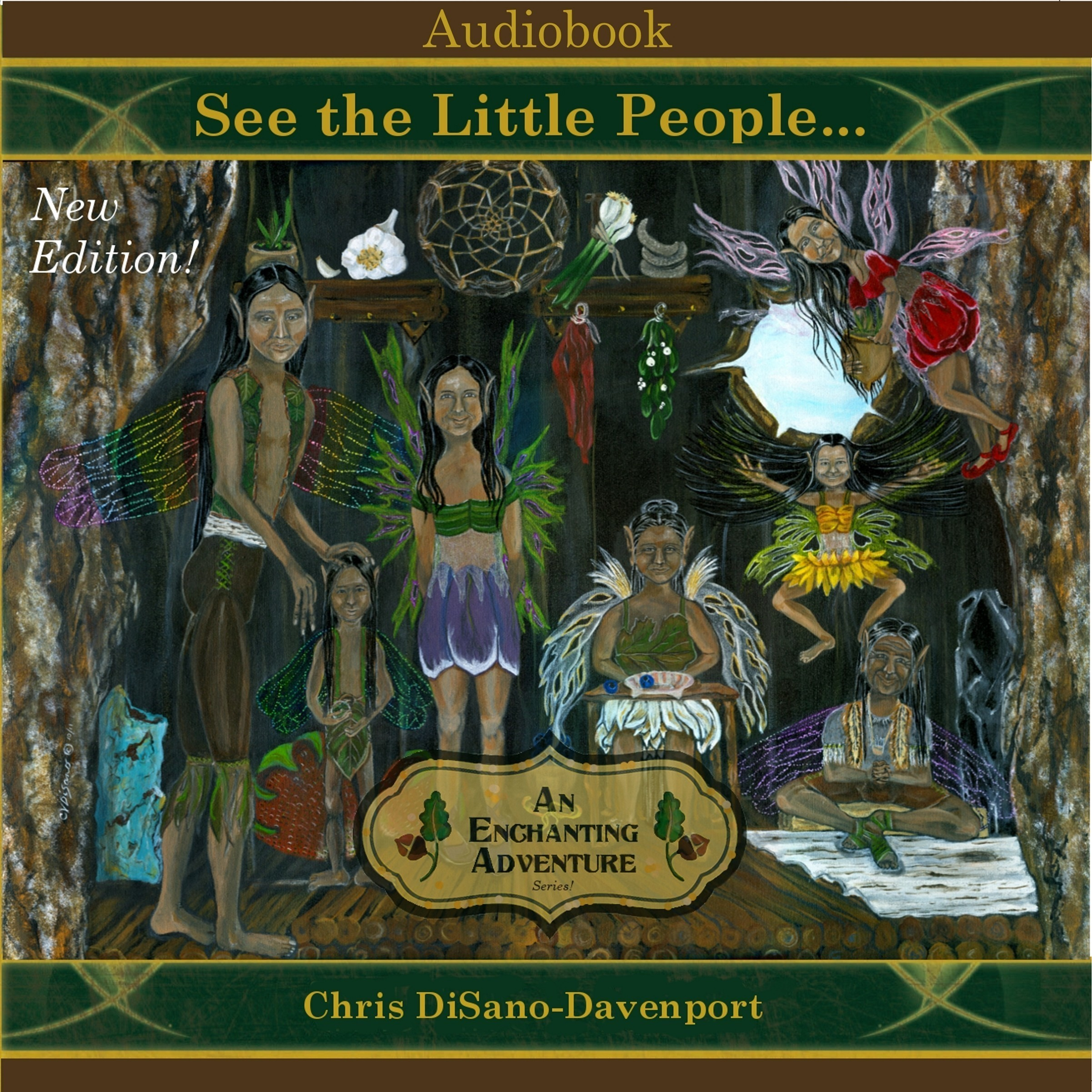Printable See the Little People…An Enchanting Adventure Audiobook Cover Art