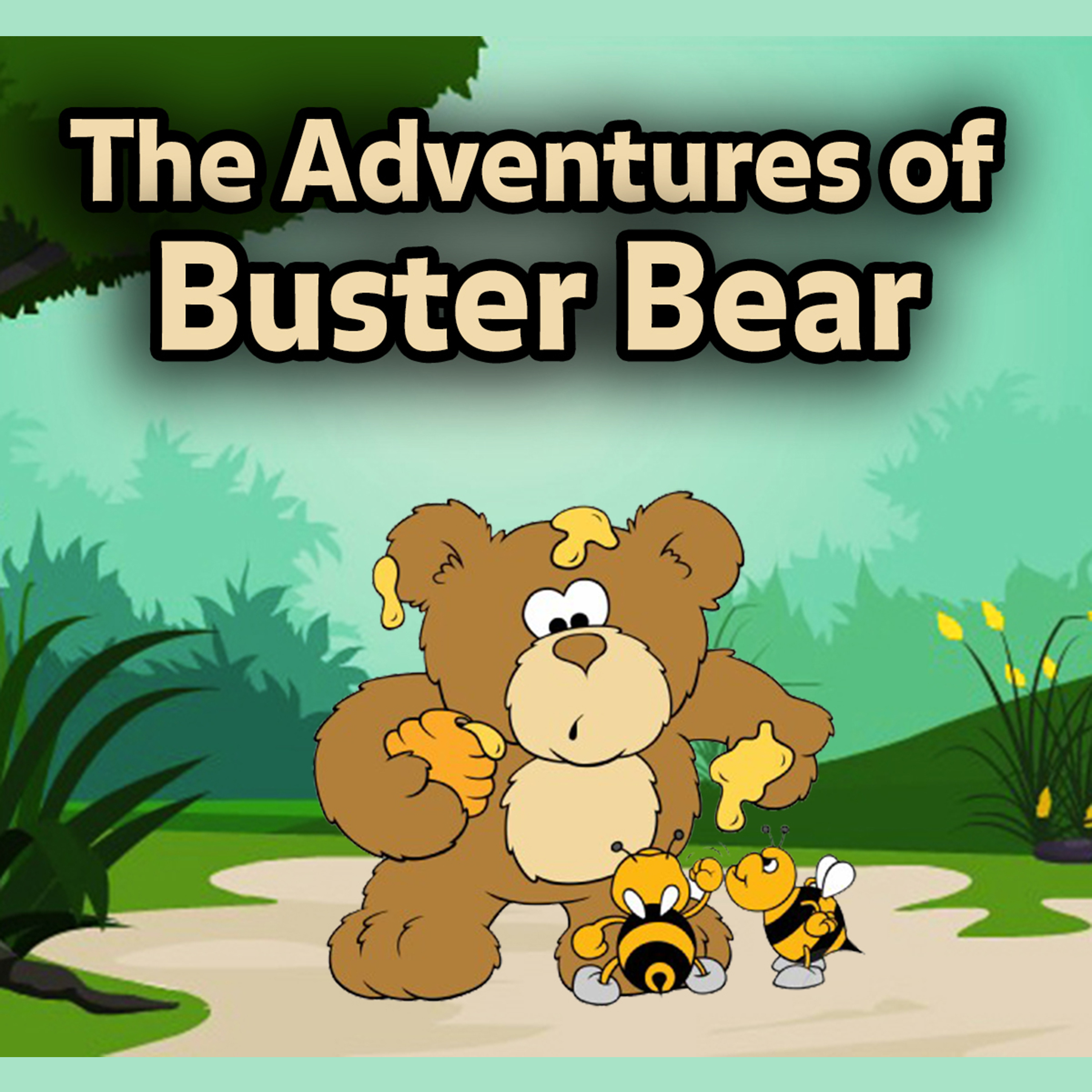 Printable The Adventures of Buster Bear Audiobook Cover Art