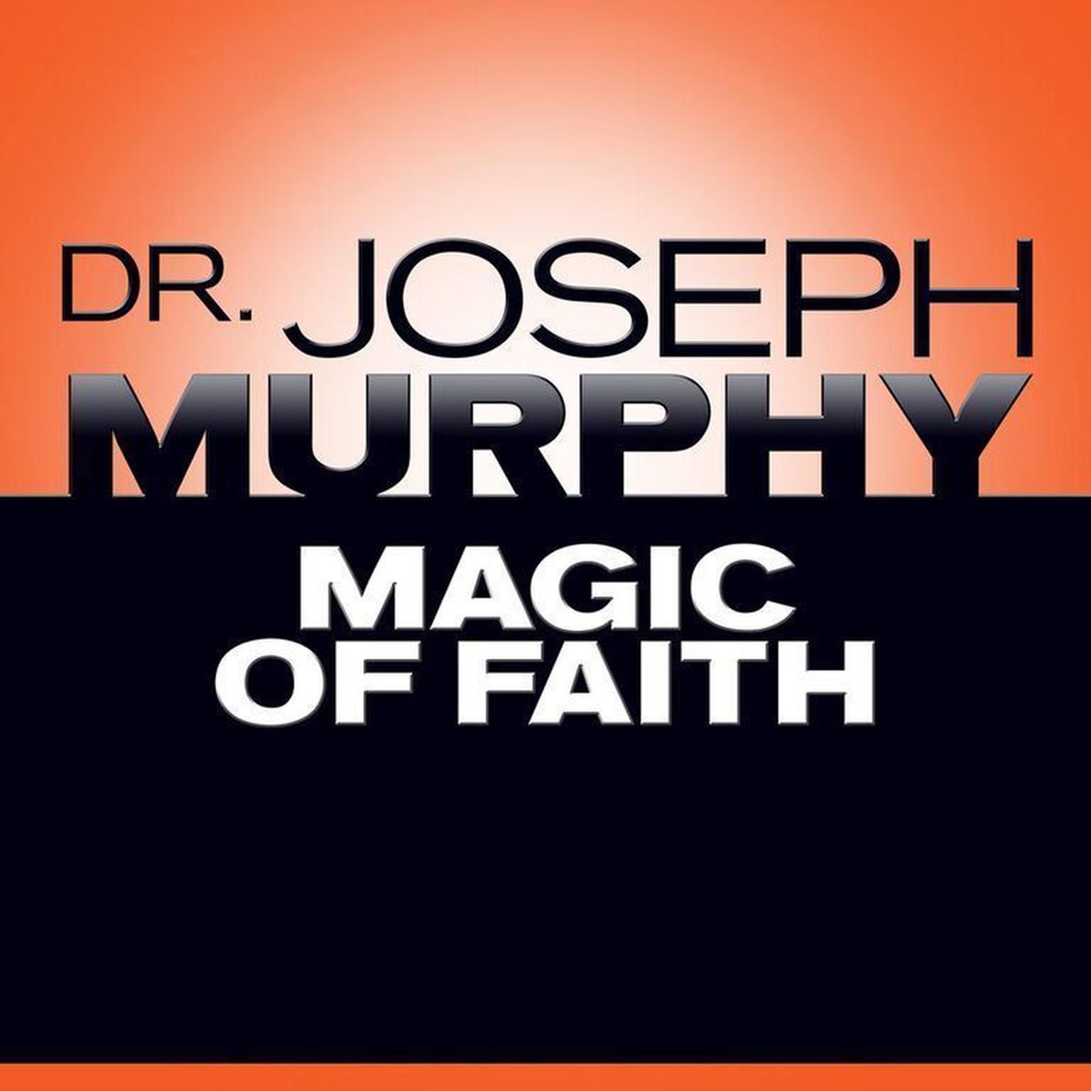Printable Magic Faith Audiobook Cover Art
