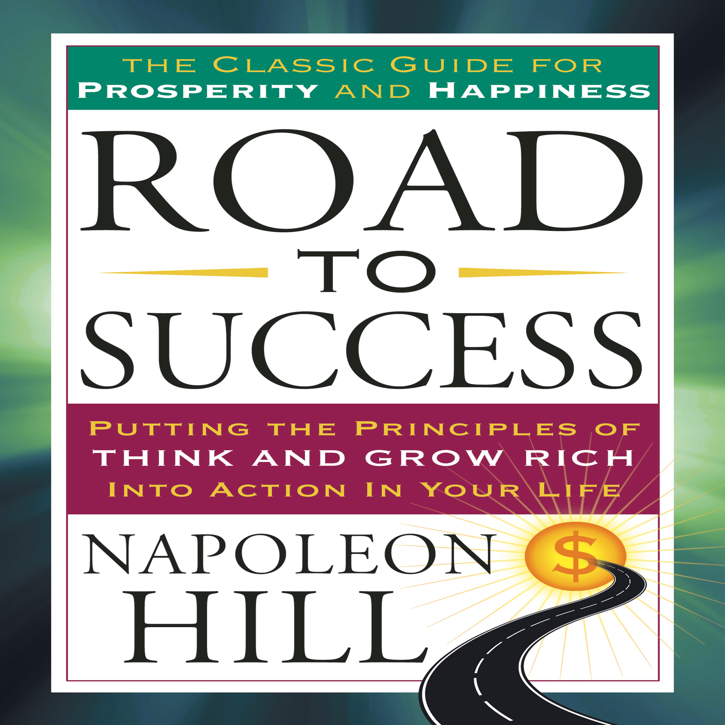 Printable Road to Success Audiobook Cover Art