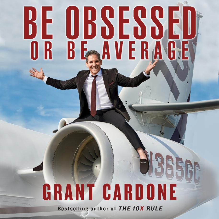 Printable Be Obsessed Or Be Average Audiobook Cover Art