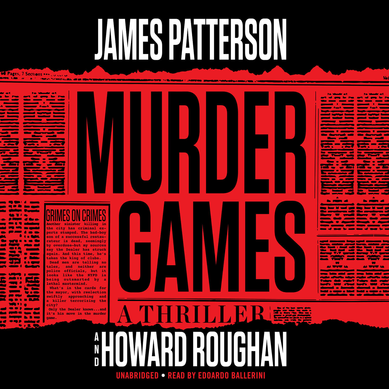 Printable Murder Games Audiobook Cover Art