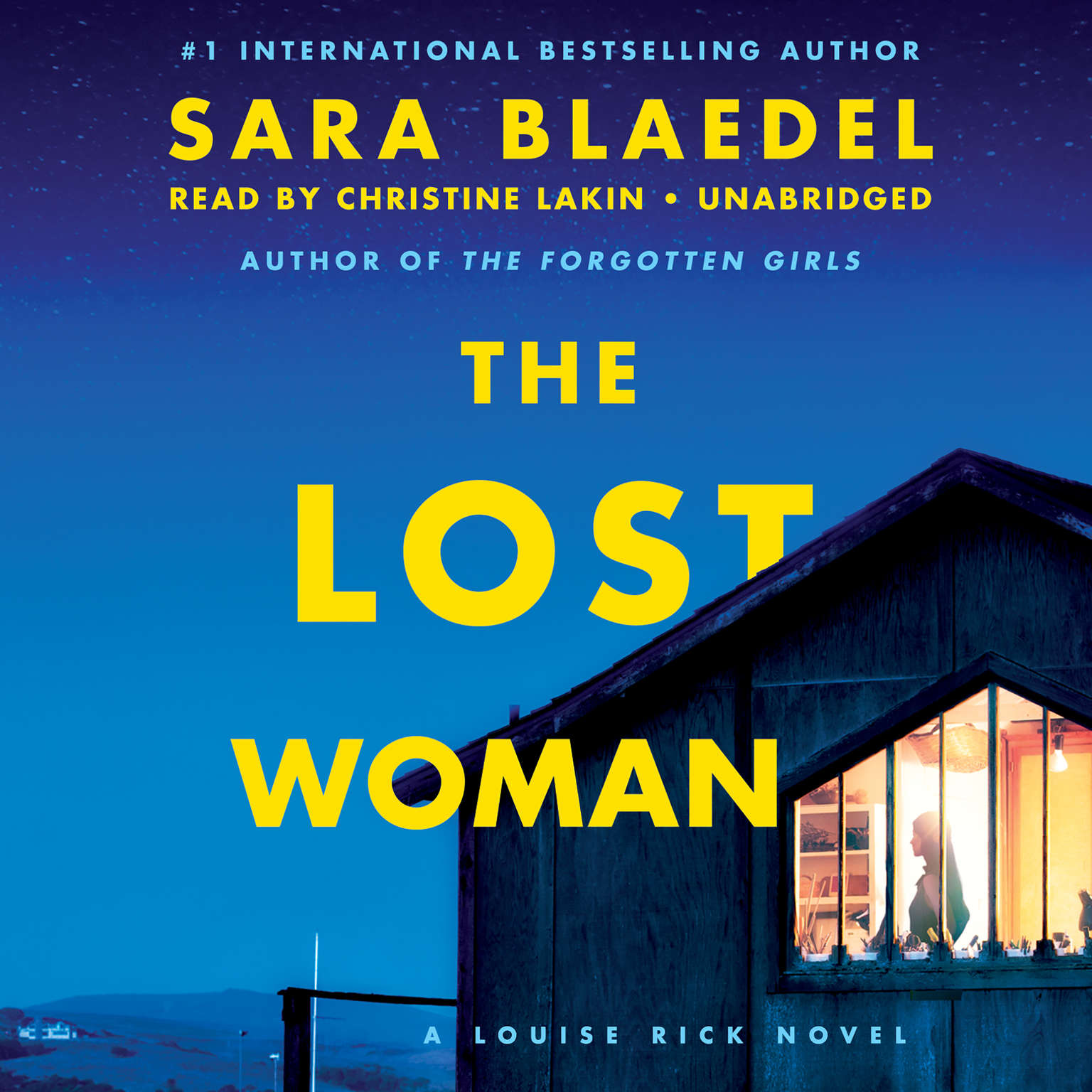 Printable The Lost Woman Audiobook Cover Art