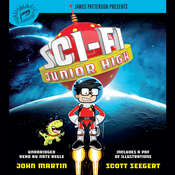 Sci-Fi Junior High Audiobook, by John Martin, Scott Seegert