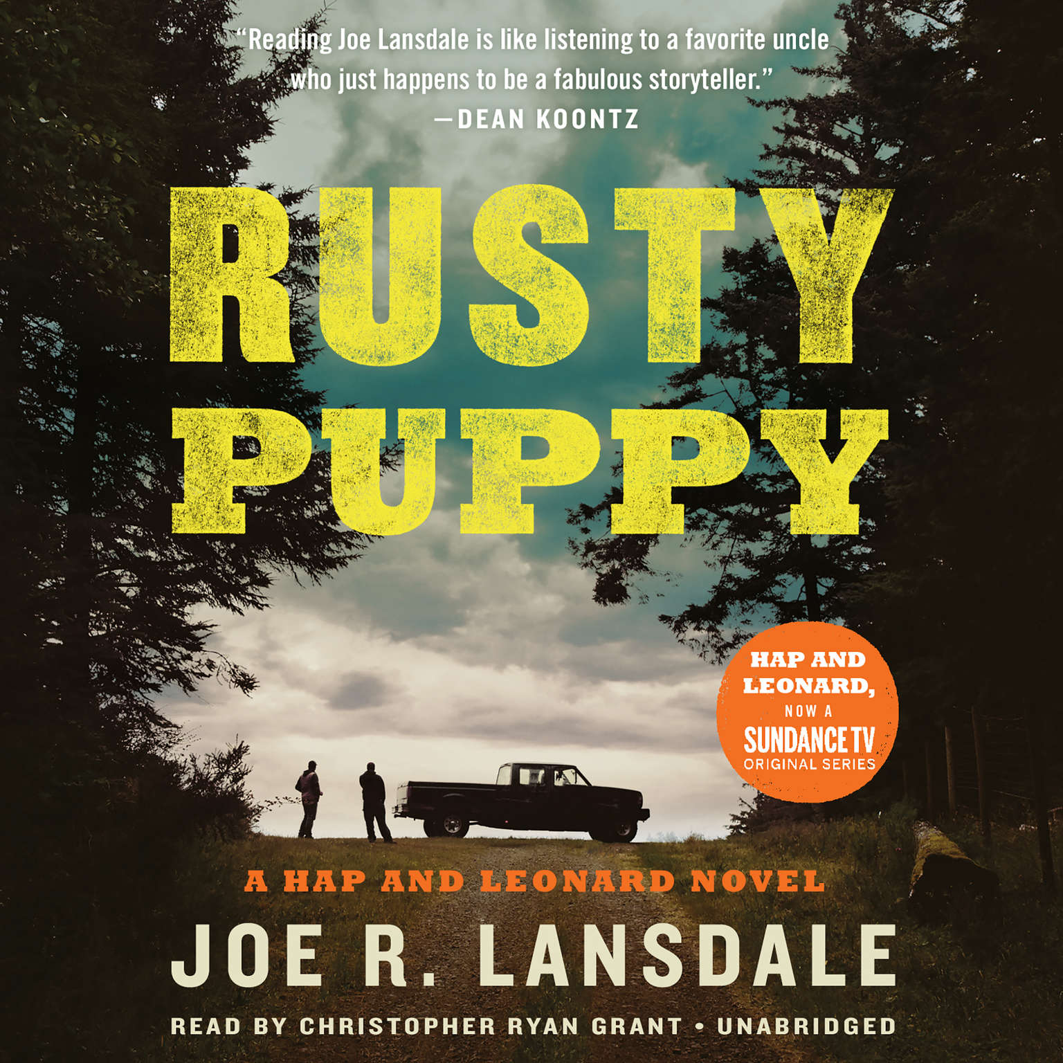 Printable Rusty Puppy Audiobook Cover Art