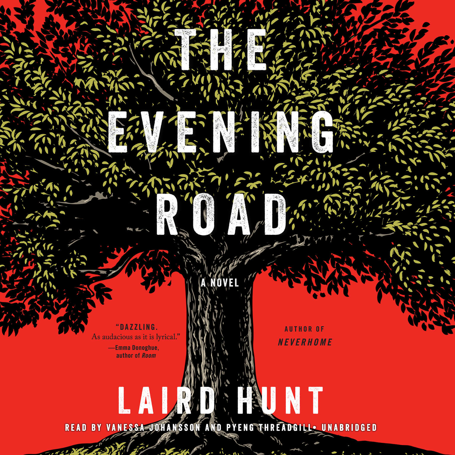 Printable The Evening Road Audiobook Cover Art