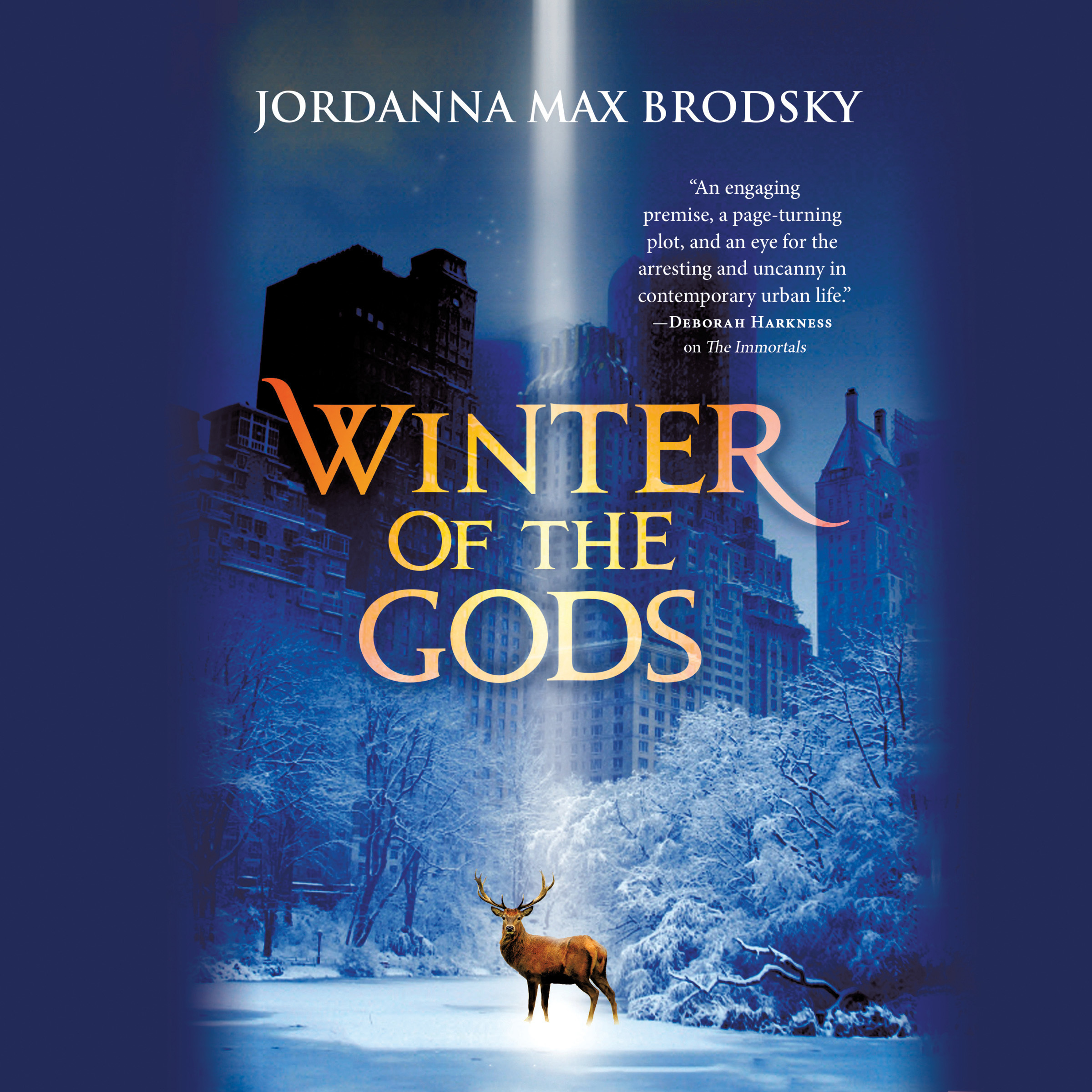 Printable Winter of the Gods Audiobook Cover Art