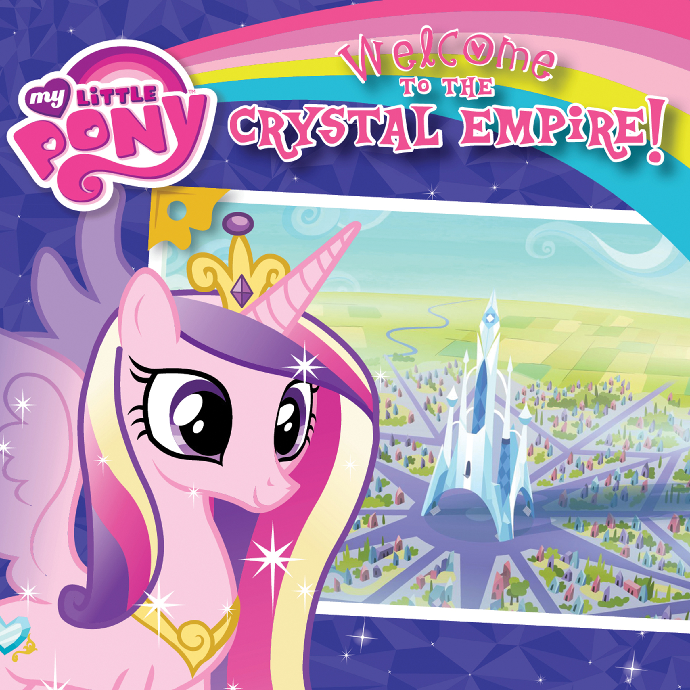 Printable My Little Pony: Welcome to the Crystal Empire! Audiobook Cover Art
