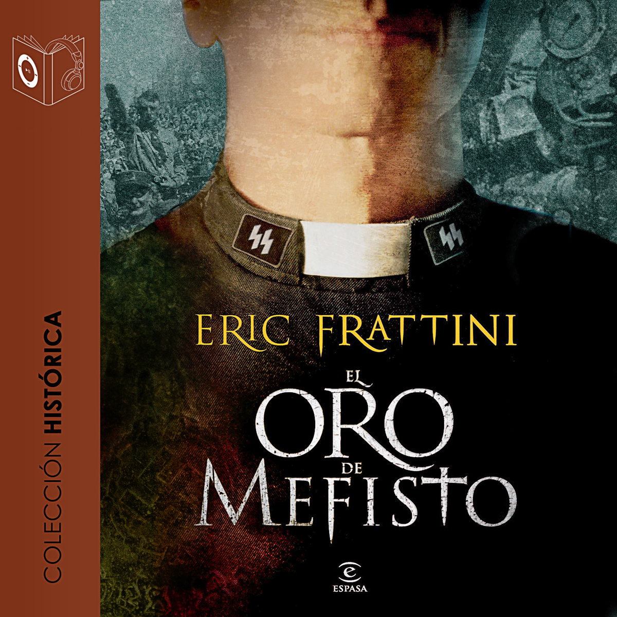 Printable El oro de Mefisto Audiobook Cover Art
