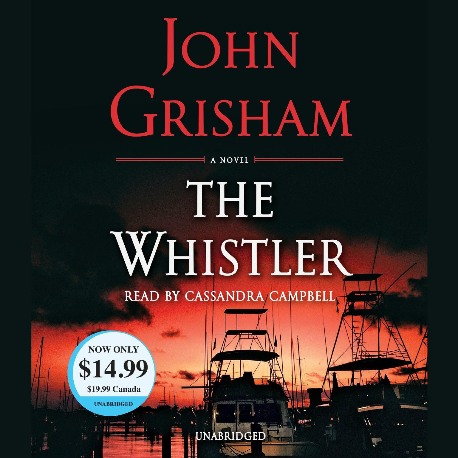 Printable The Whistler Audiobook Cover Art