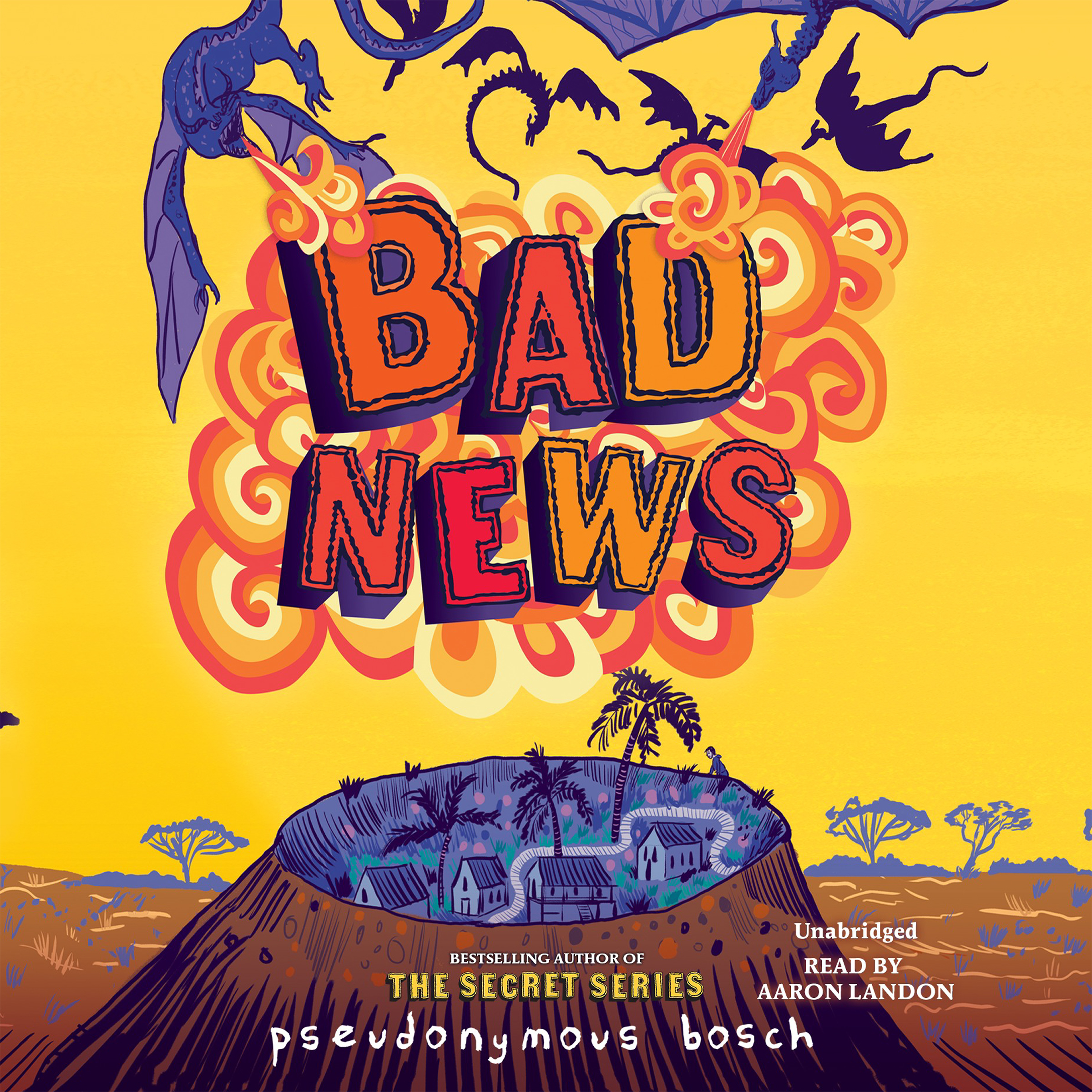 Printable Bad News Audiobook Cover Art