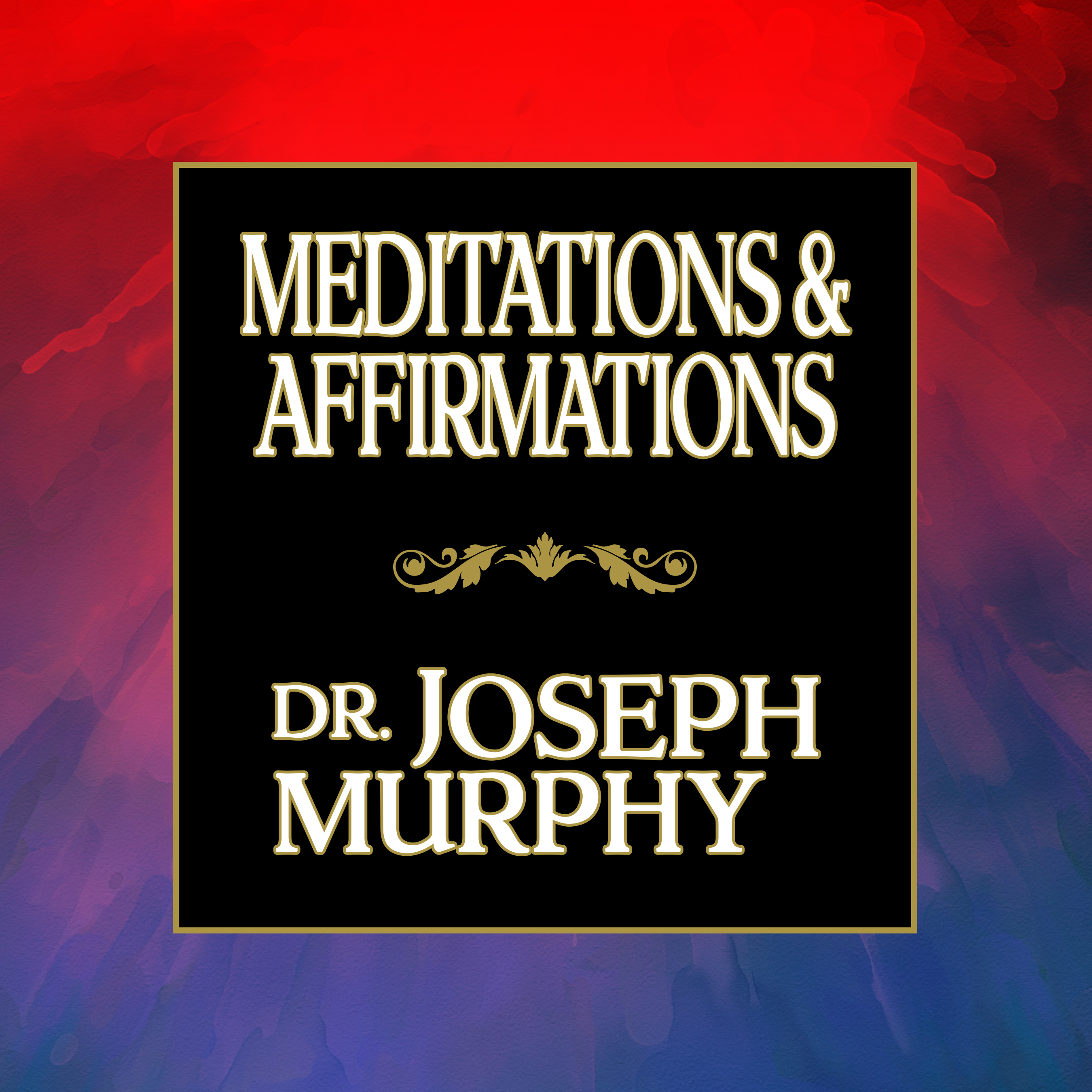Printable Meditations & Affirmations Audiobook Cover Art