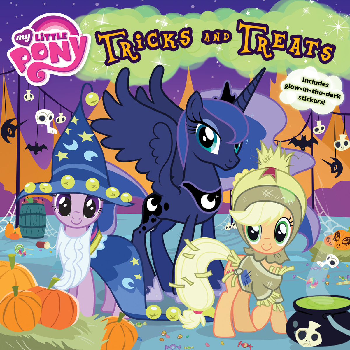 Printable My Little Pony: Tricks and Treats Audiobook Cover Art