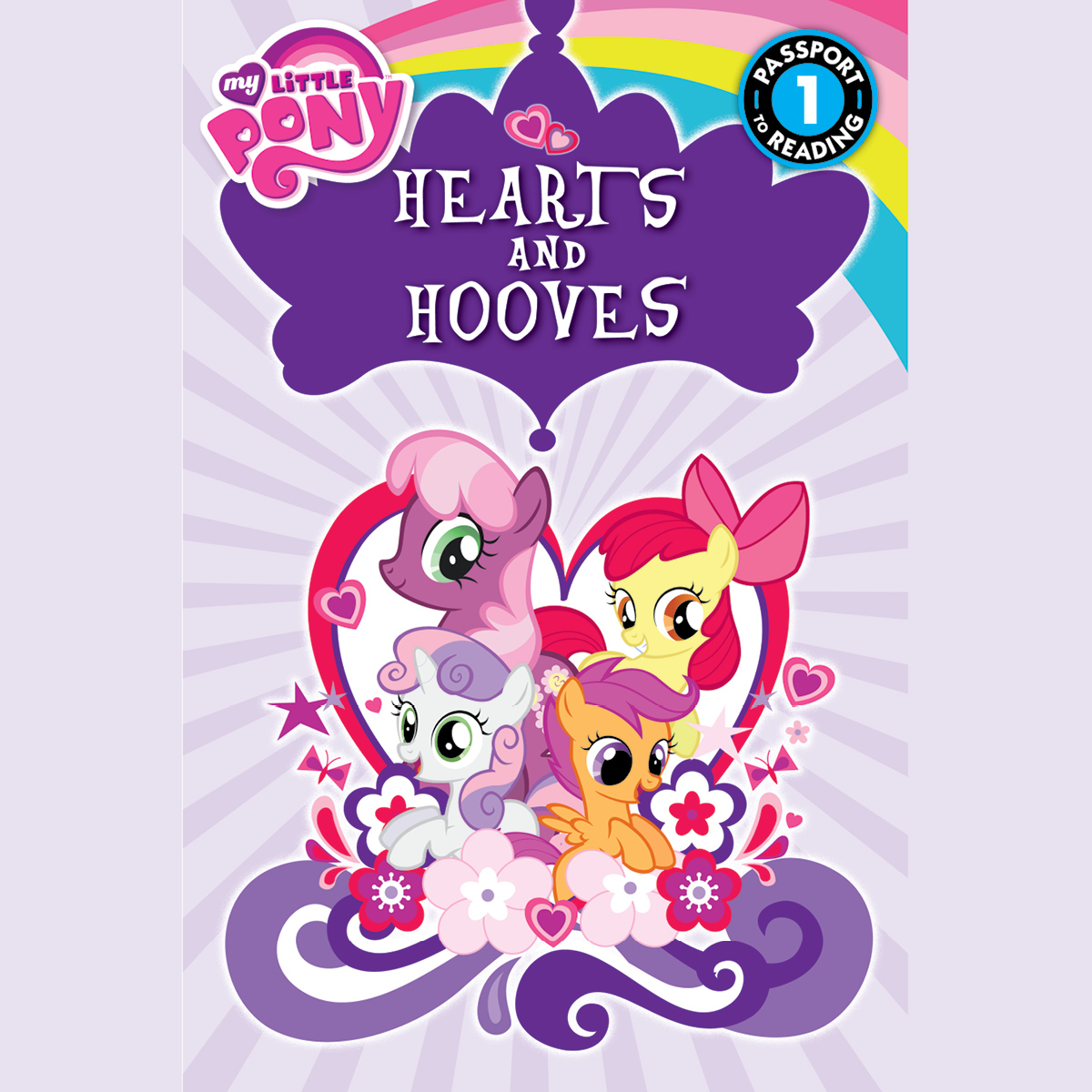 Printable My Little Pony: Hearts and Hooves Audiobook Cover Art
