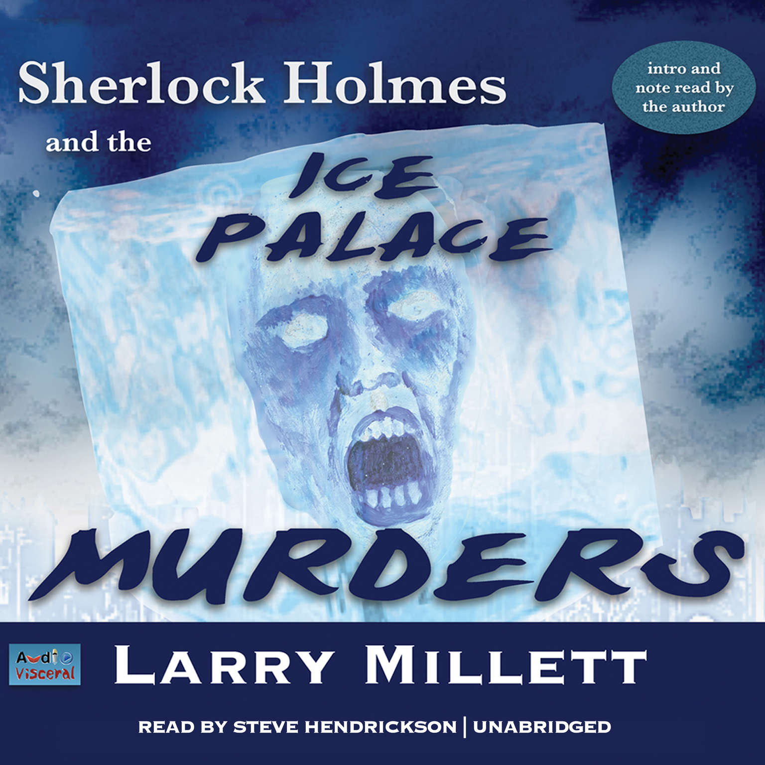 Printable Sherlock Holmes and the Ice Palace Murders: A Minnesota Mystery Featuring Shadwell Rafferty Audiobook Cover Art