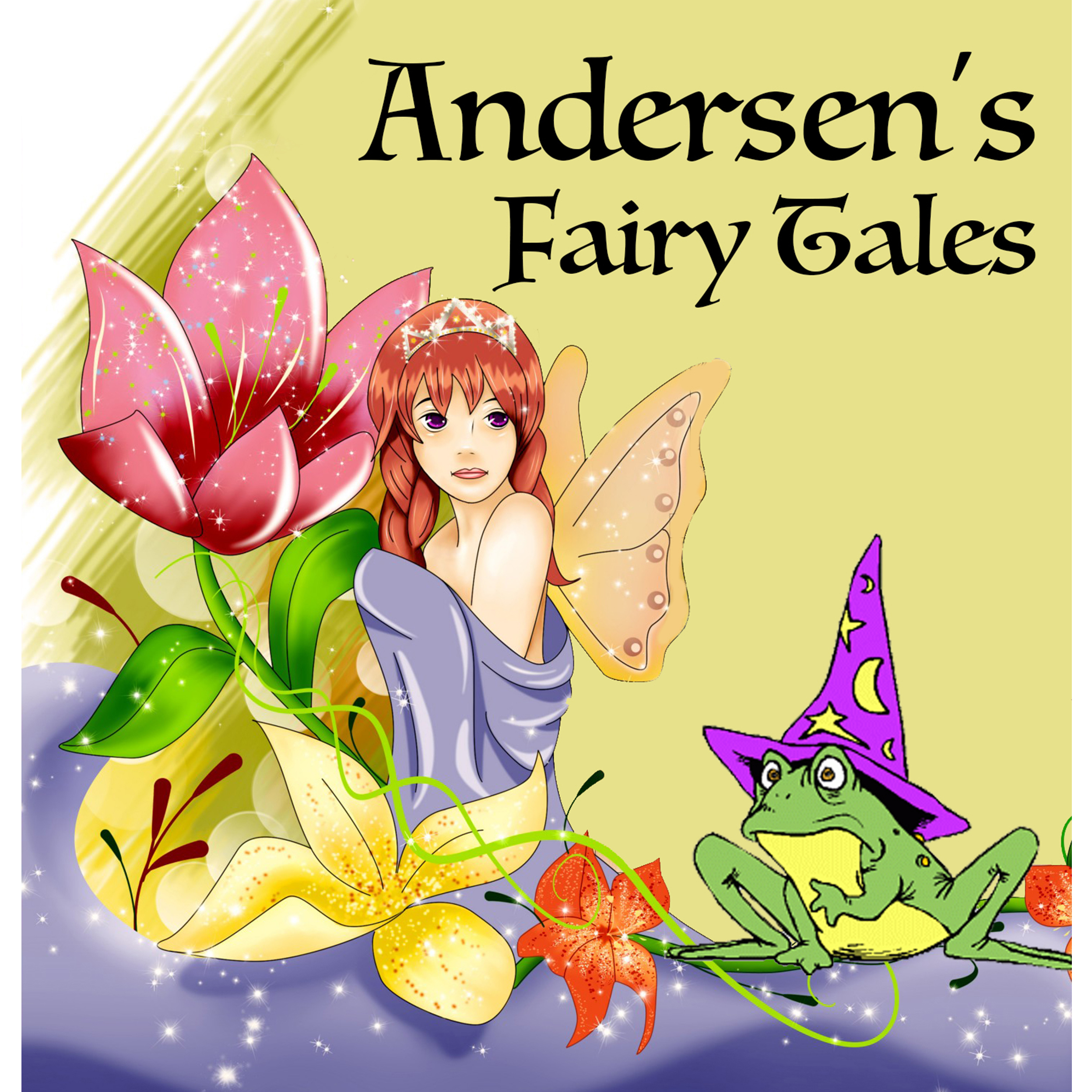 Printable Andersen's Fairy Tales Audiobook Cover Art