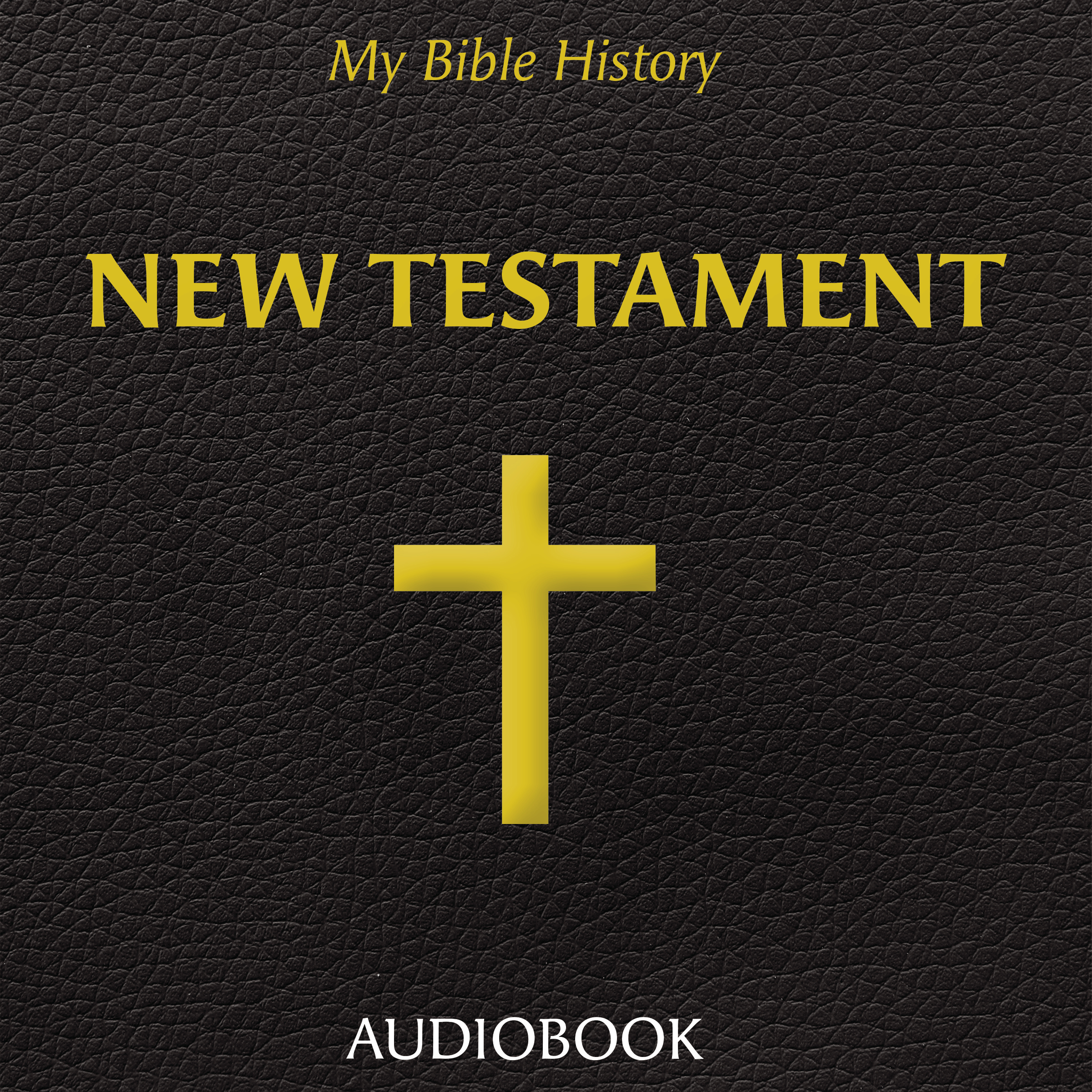Printable My Bible History: New Testament Audiobook Cover Art