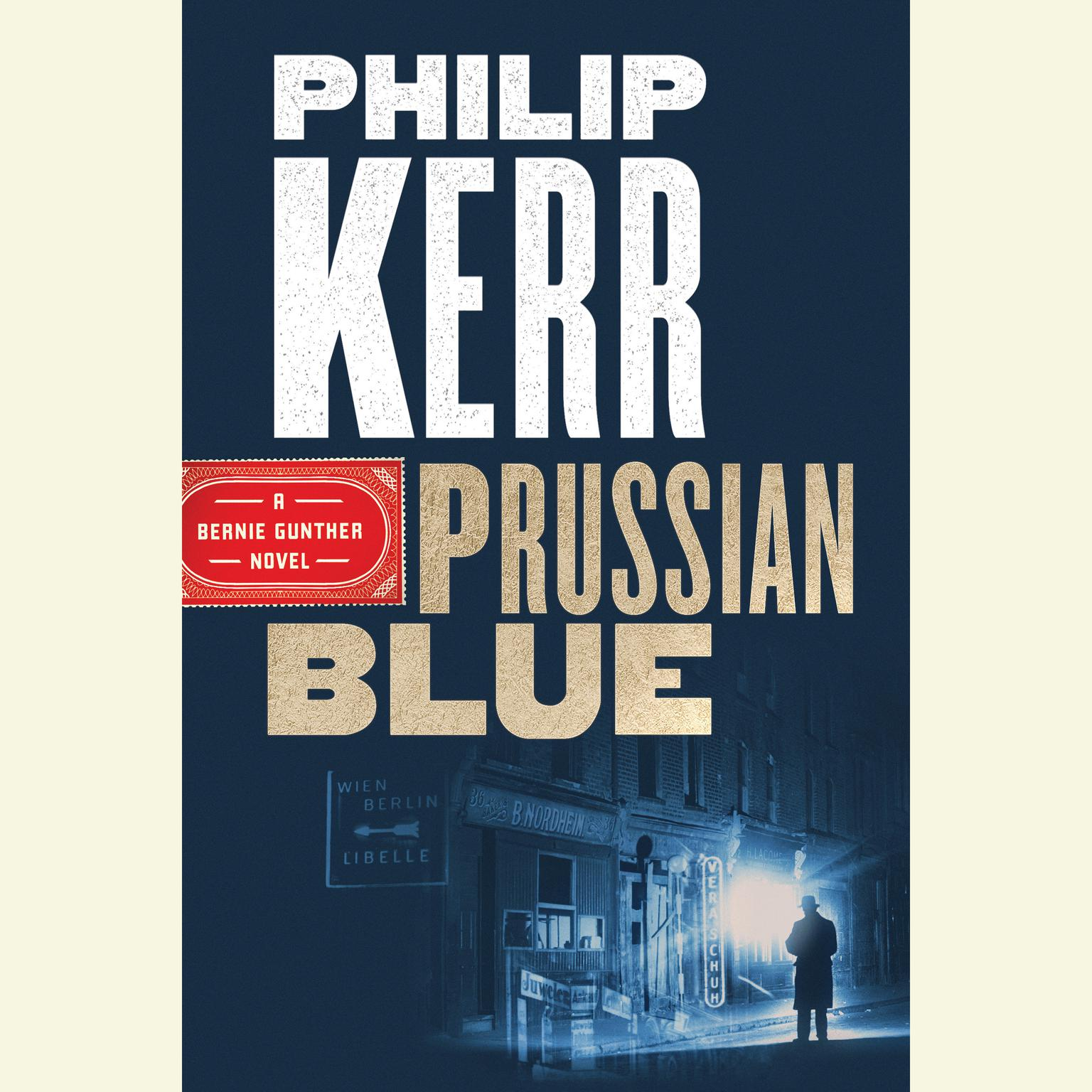 Printable Prussian Blue Audiobook Cover Art