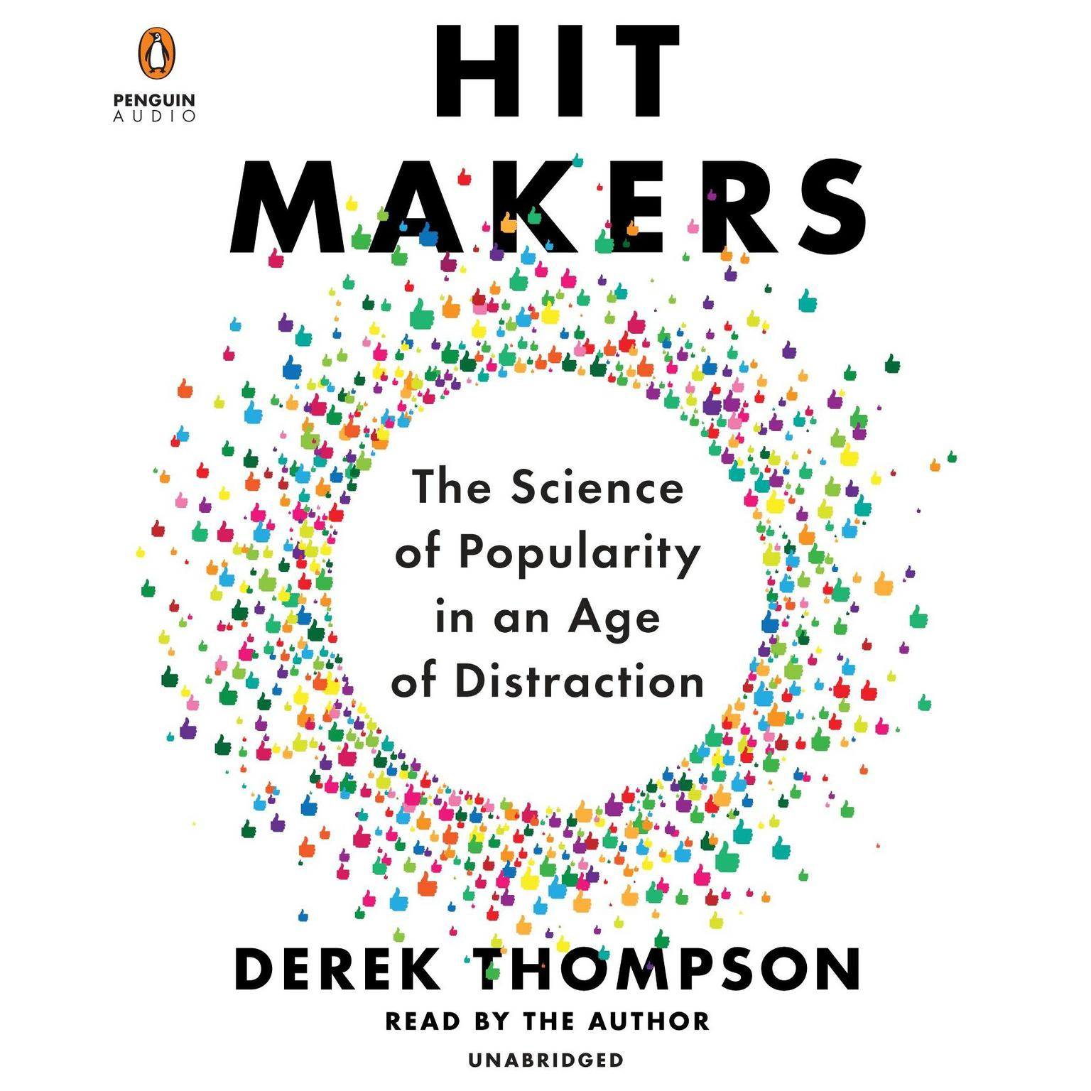 Printable Hit Makers: The Science of Popularity in an Age of Distraction Audiobook Cover Art
